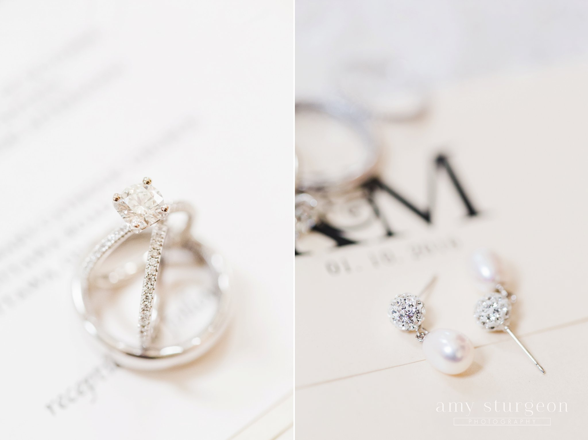 Delicate and white details at the alpaca farm wedding in ottawa