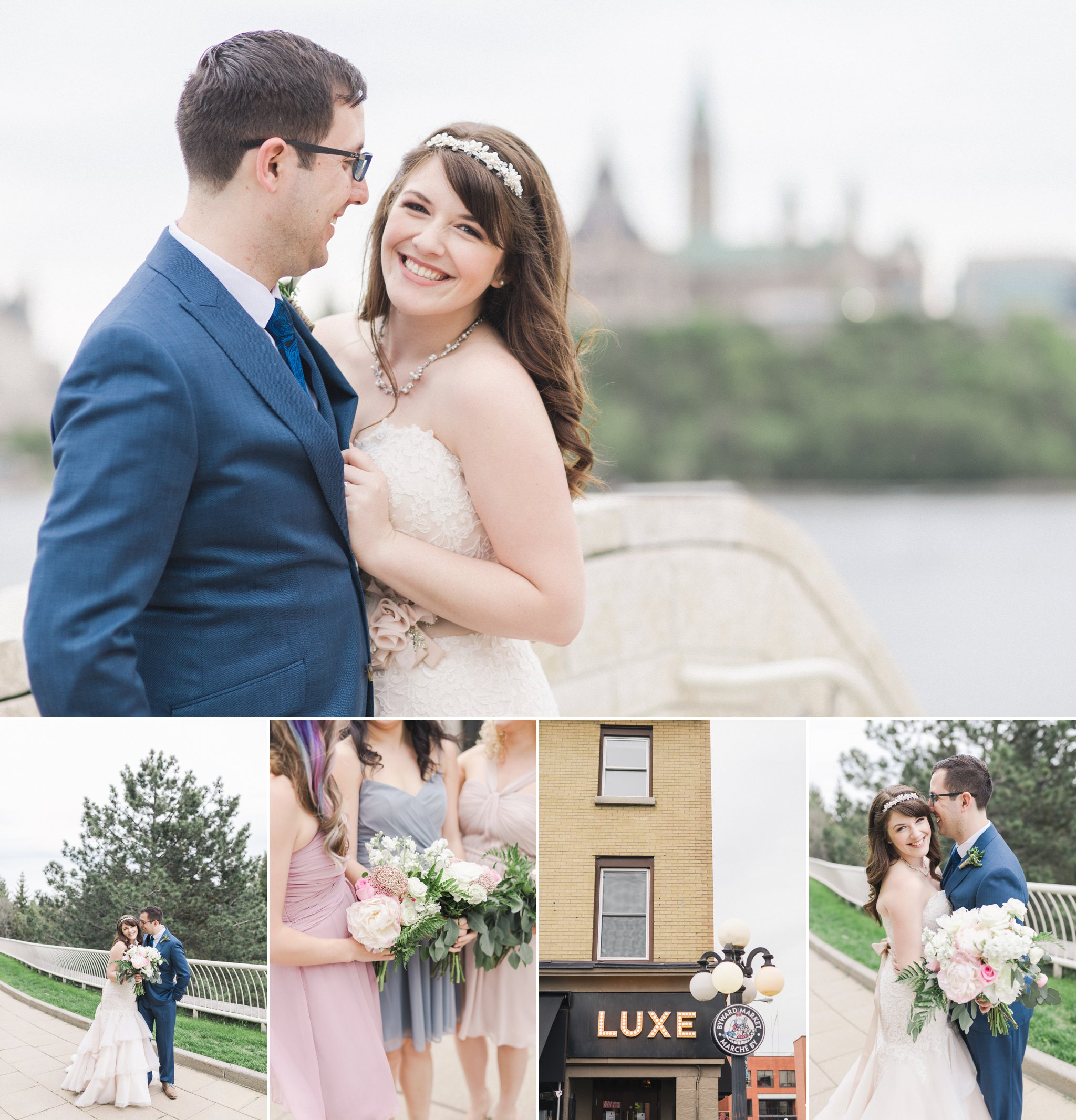 Luxe Bistro restaurant wedding in downtown Ottawa