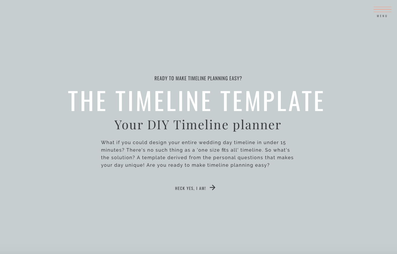 5 Tips for Starting Wedding Day Timeline - The Friday Five