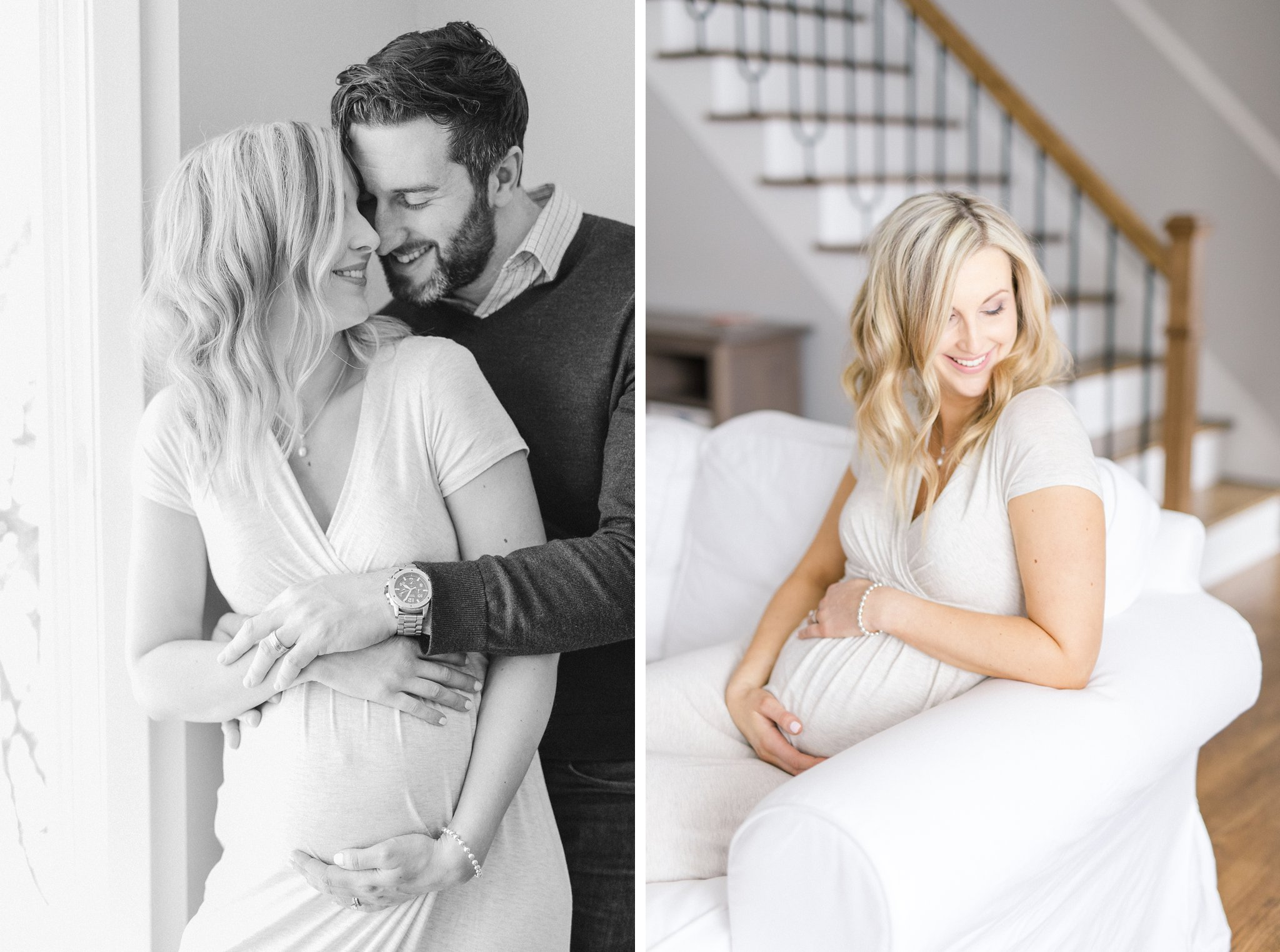 Bright lifestyle maternity photos Ottawa