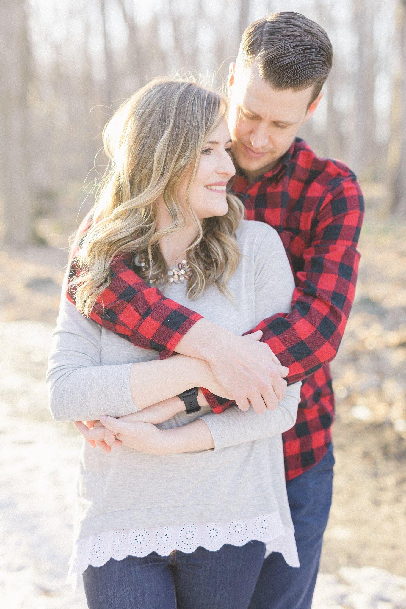 Amy Pinder Bride Gatineau Park engagement photos