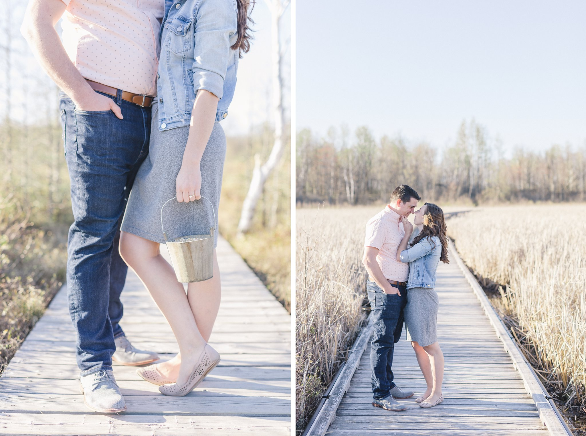 Mer Bleue Boardwalk Engagement Photos Amy Pinder Photography