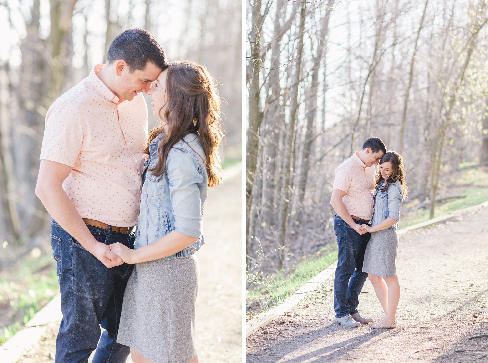 Trail Mer Bleue Boardwalk Engagement Photos Amy Pinder Photography