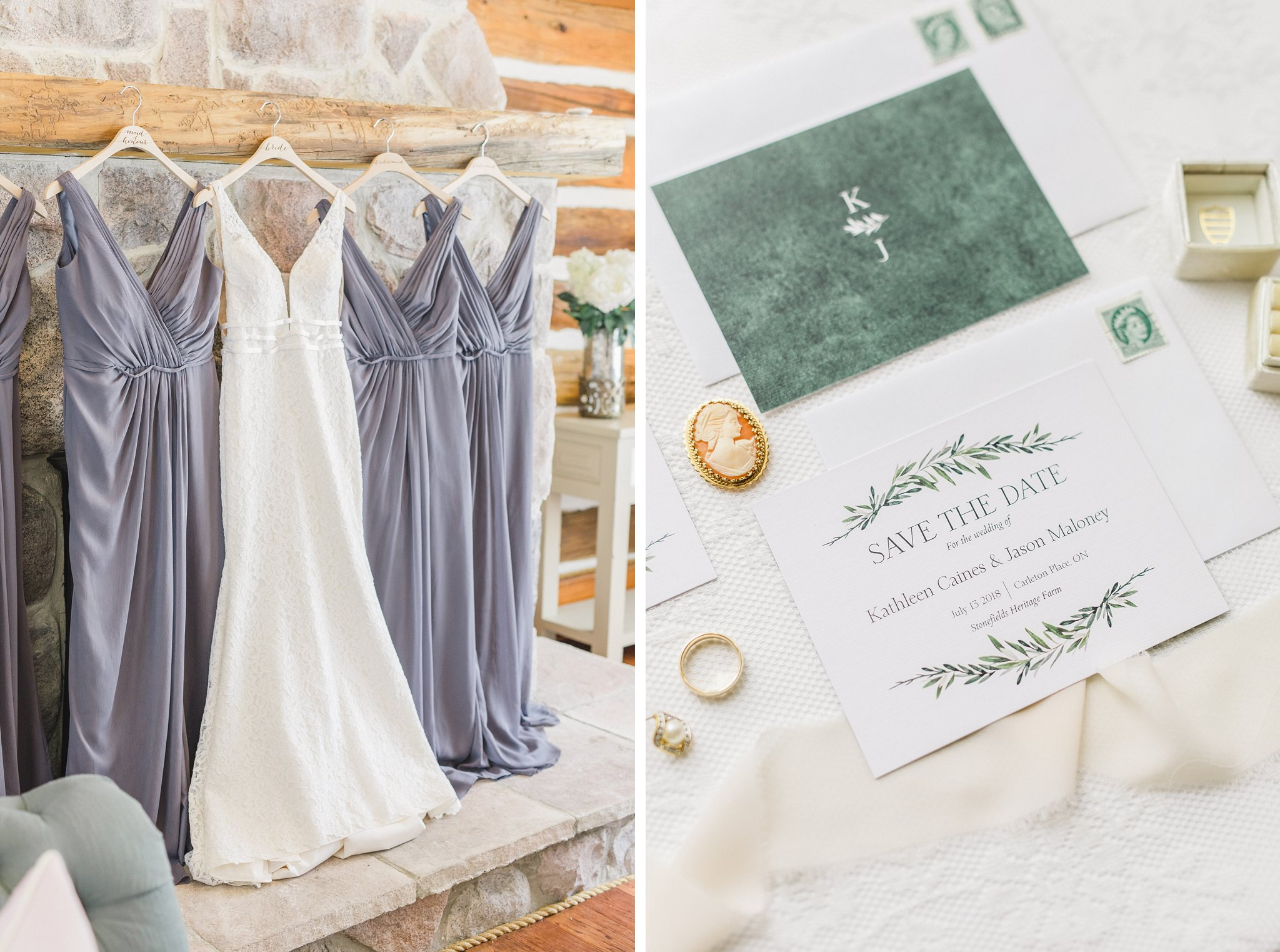 Davids Bridal mauve bridesmaid dresses married at Stonefields, Amy Pinder Photography