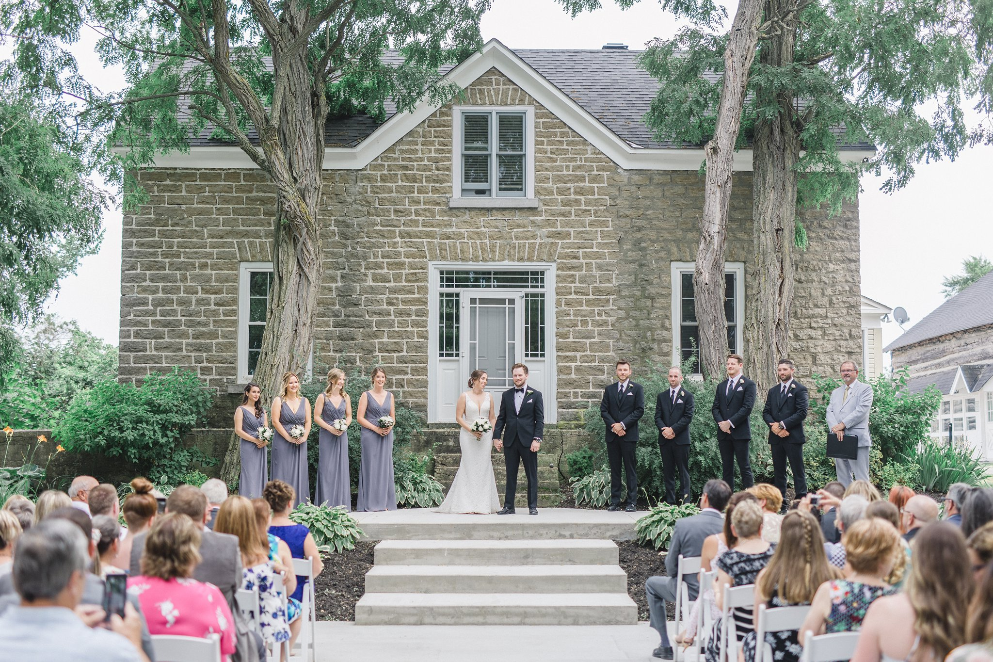 Wedding ceremony married at Stonefields, Amy Pinder Photography