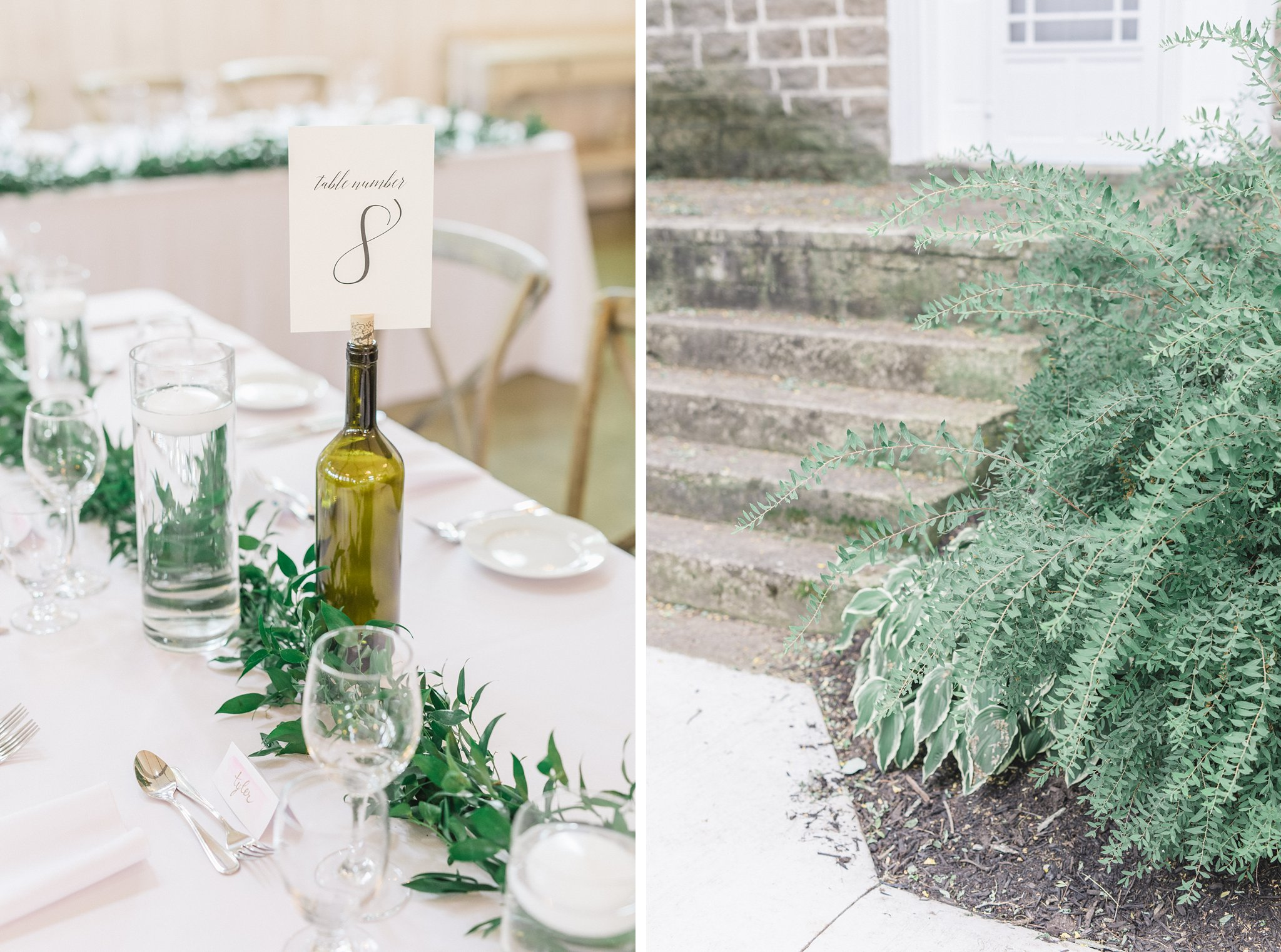 Calligraphy table numbers married at Stonefields, Amy Pinder Photography