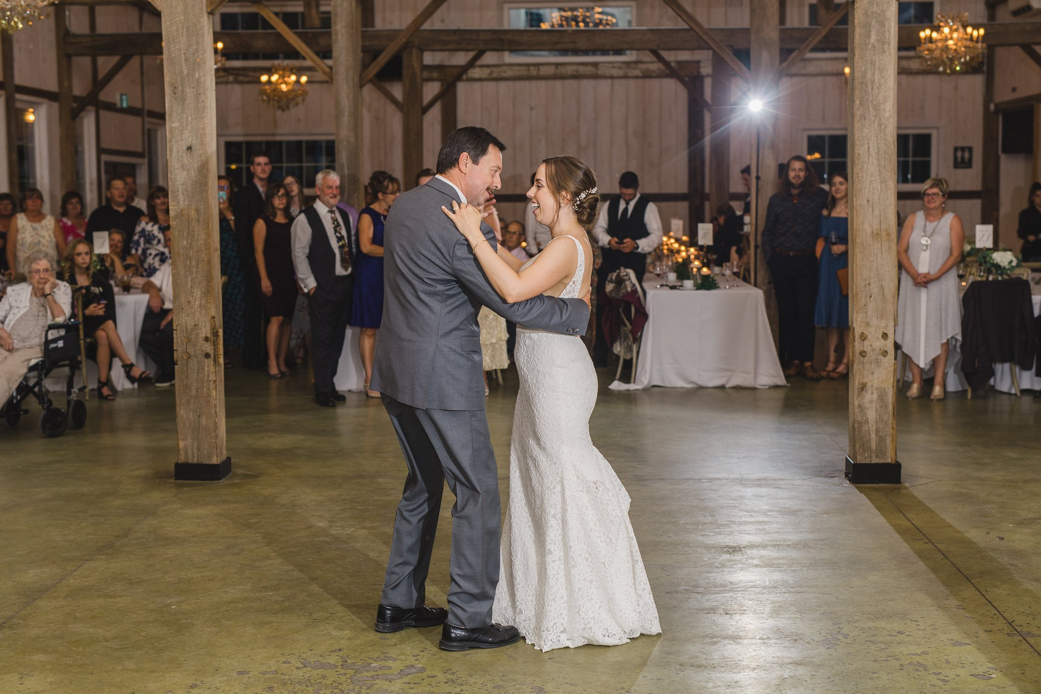 father daughter dance married at Stonefields, Amy Pinder Photography