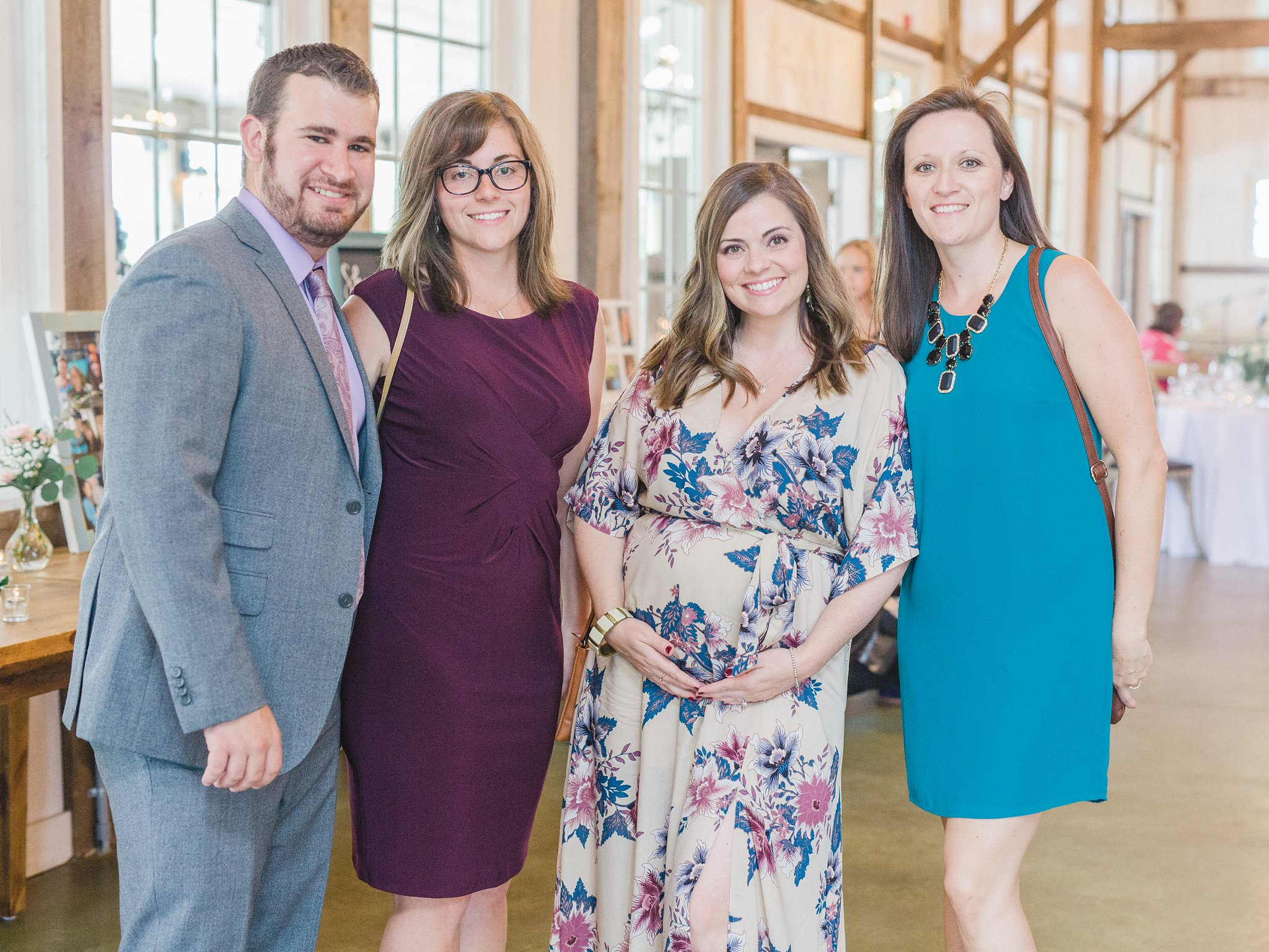 Guests at Stonefields Loft married at Stonefields, Amy Pinder Photography