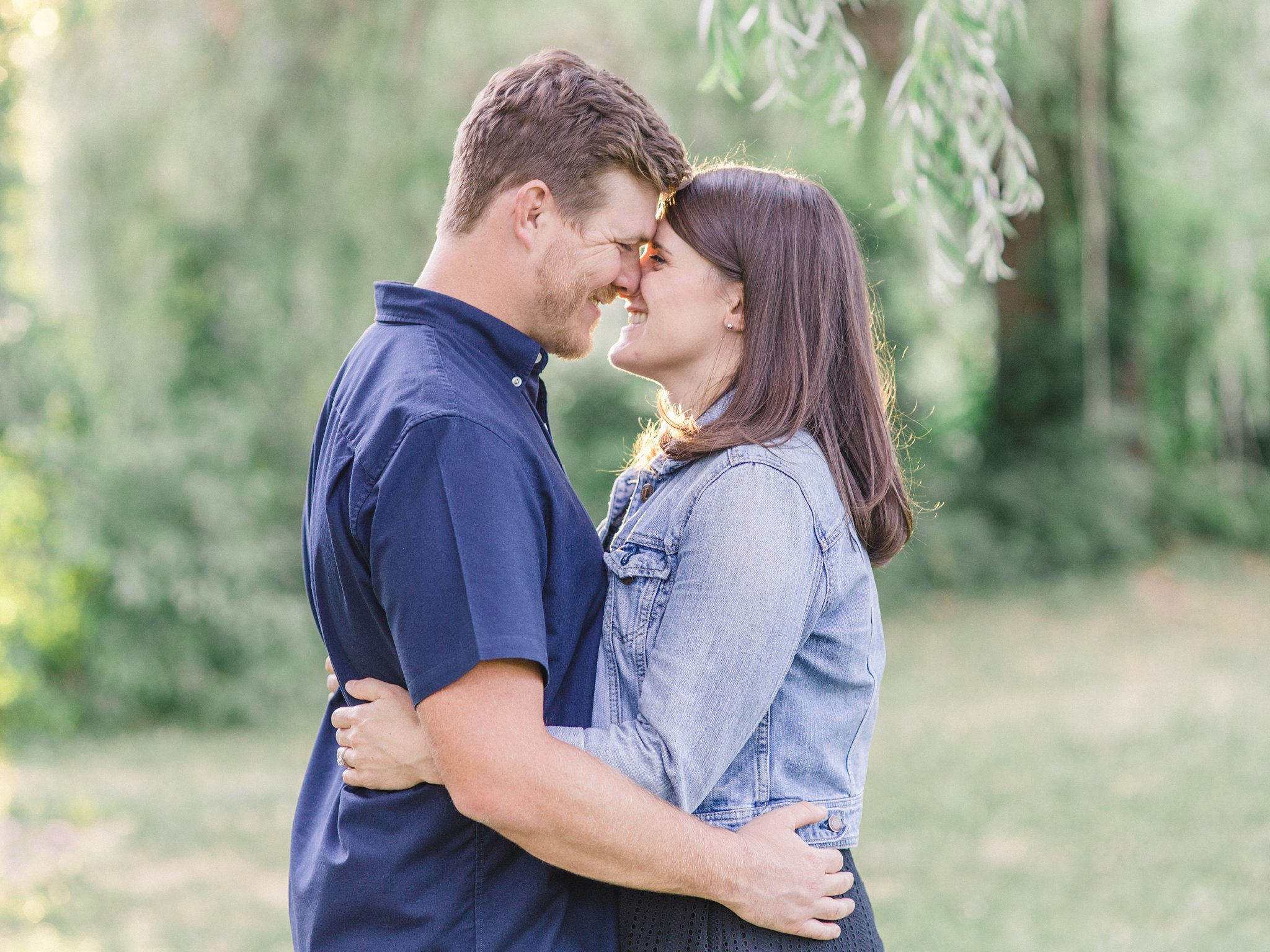 Engagement photos at Ottawa Arboretum Amy Pinder Photography