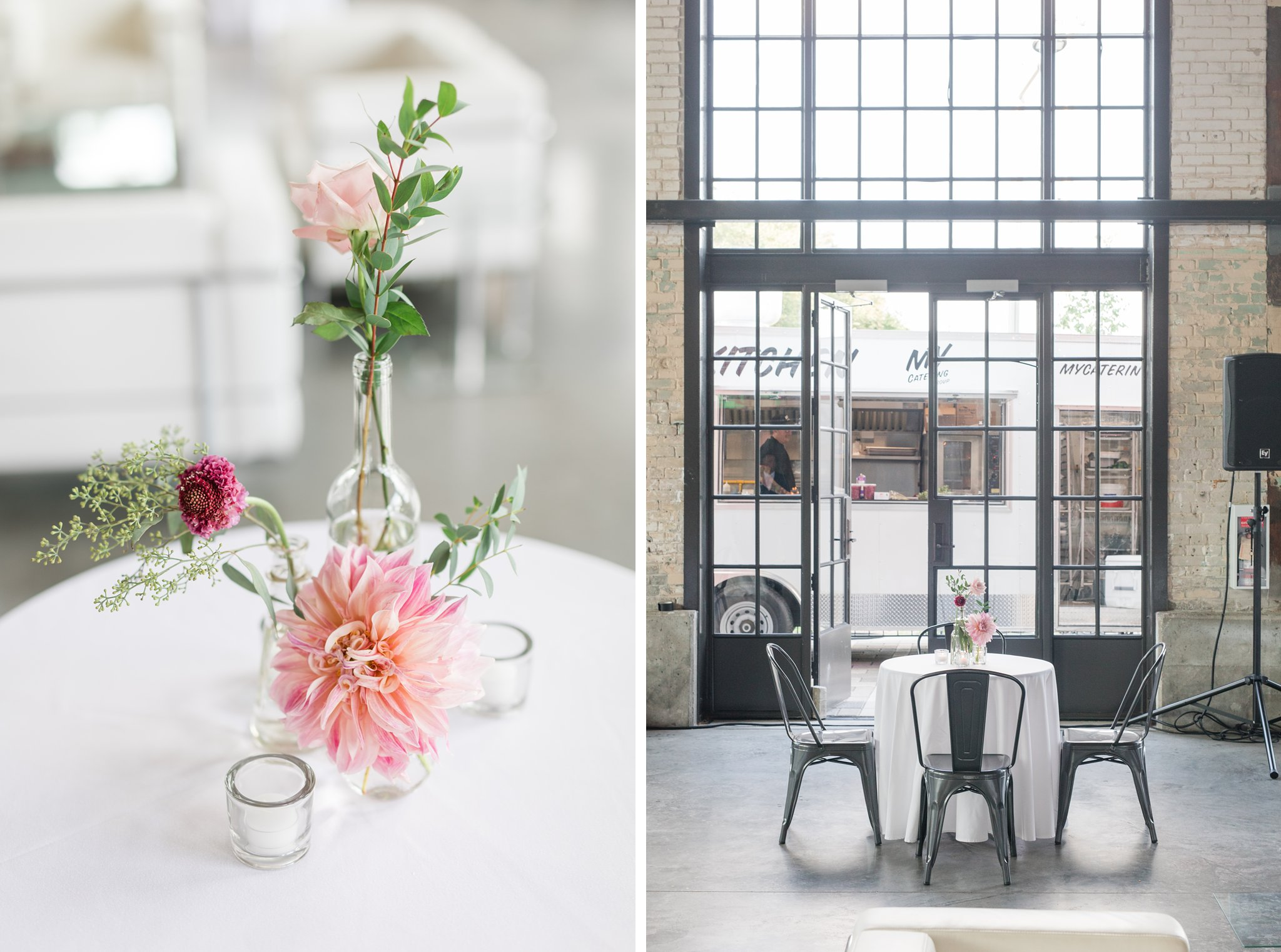 Large windows Horticulture Building wedding at Lansdowne Amy Pinder Photography