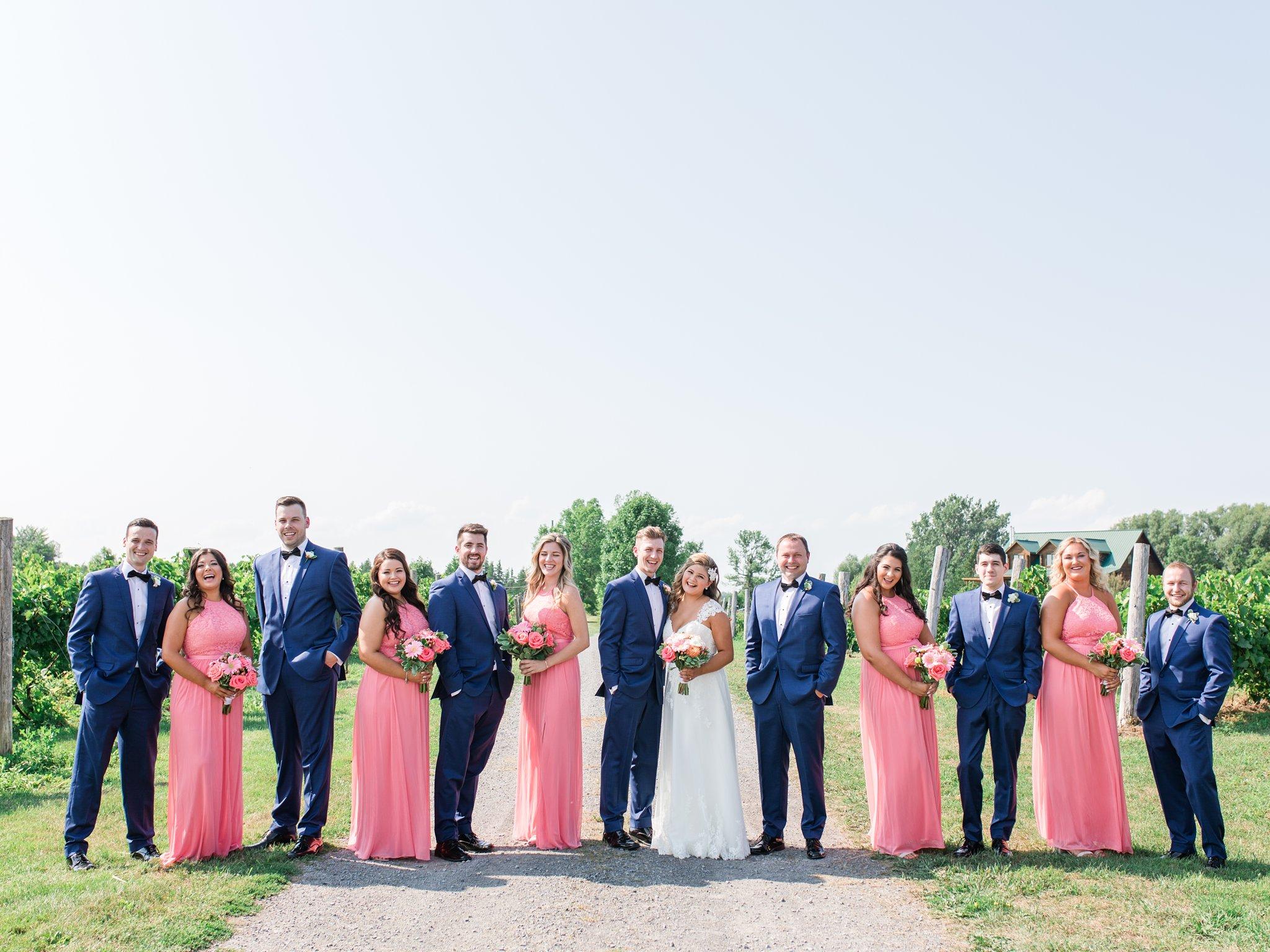 Davids bridal pink bridesmaids Vineyard wedding at Jabulani Amy Pinder Photography