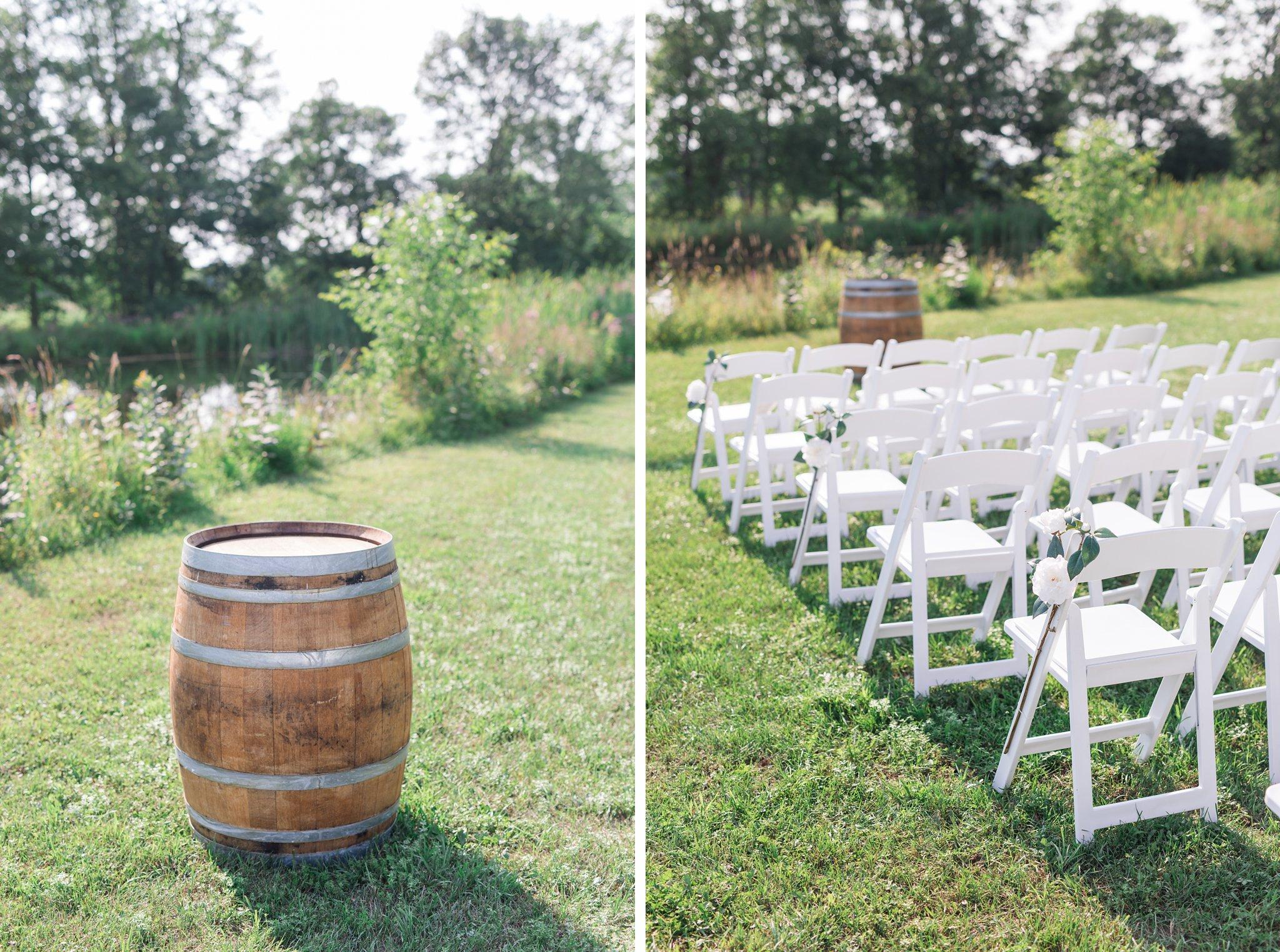 Sign registrar on barrel Vineyard wedding at Jabulani Amy Pinder Photography