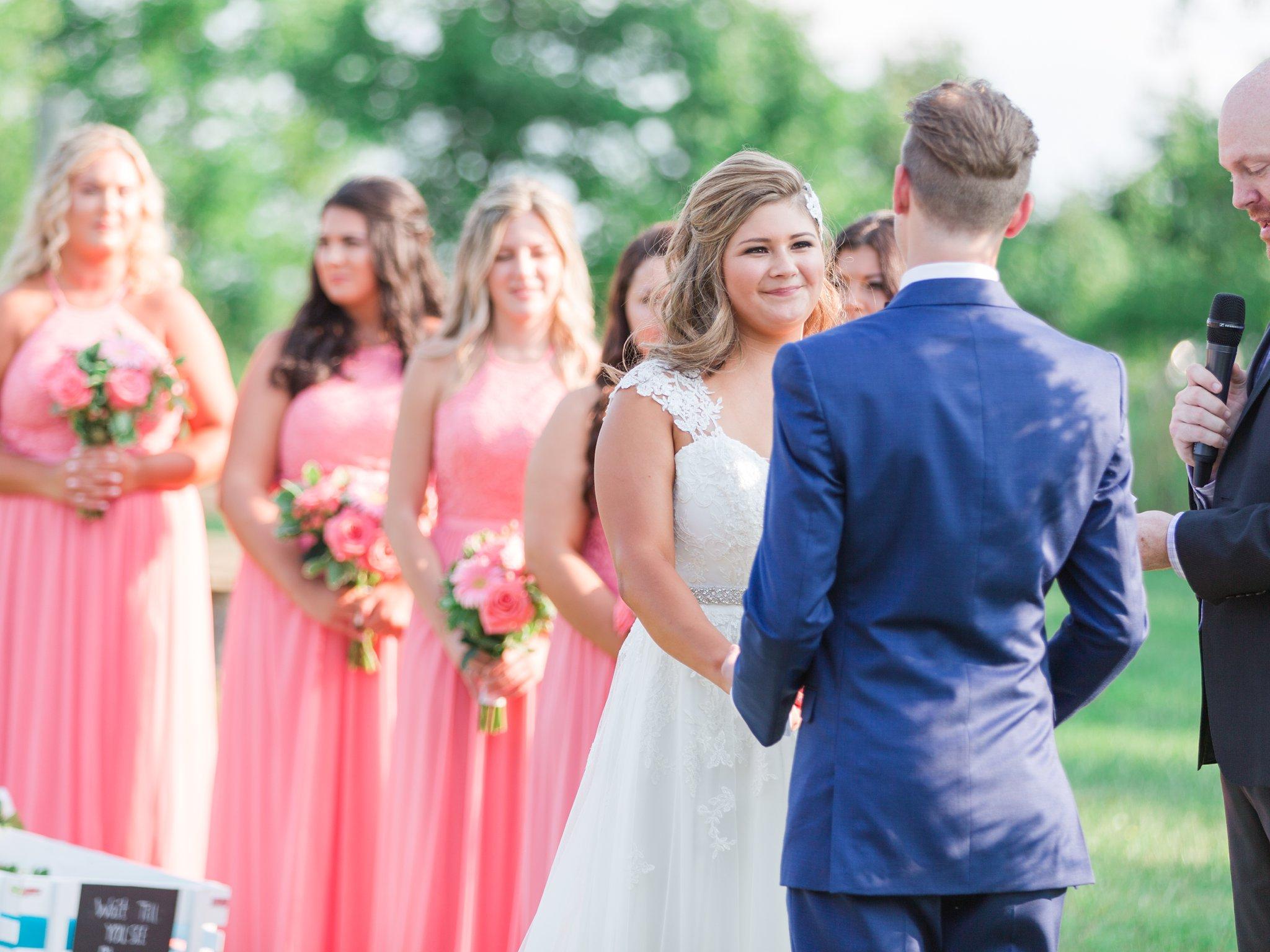 Pond ceremony Vineyard wedding at Jabulani Amy Pinder Photography