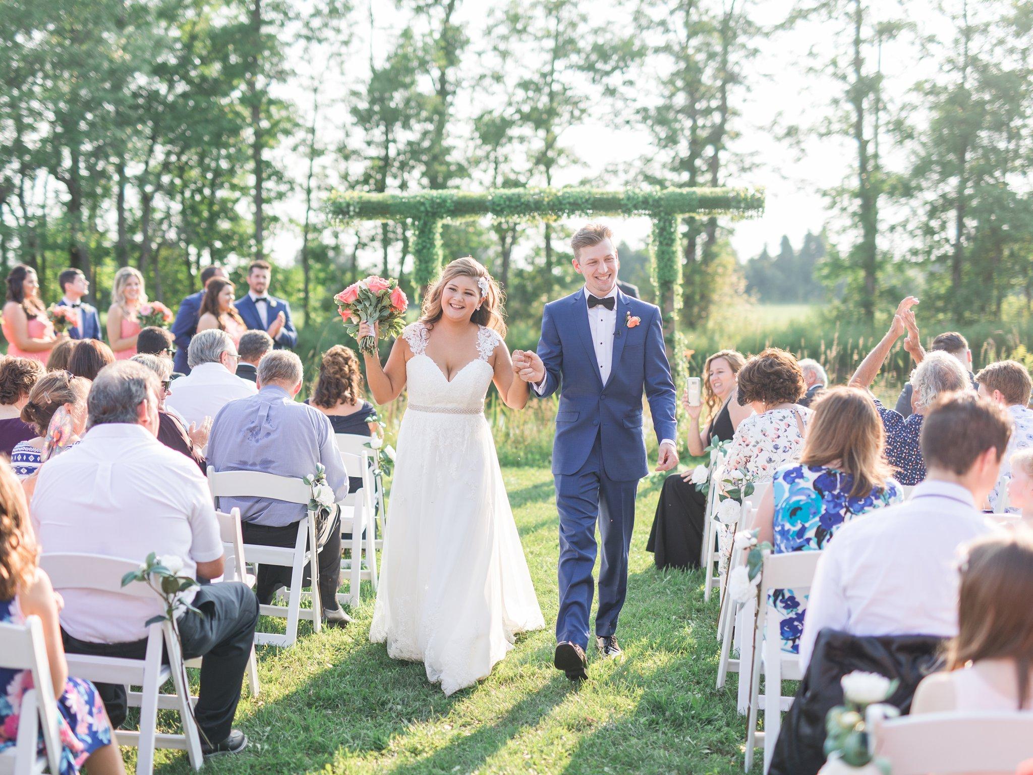 Recessional Vineyard wedding at Jabulani Amy Pinder Photography