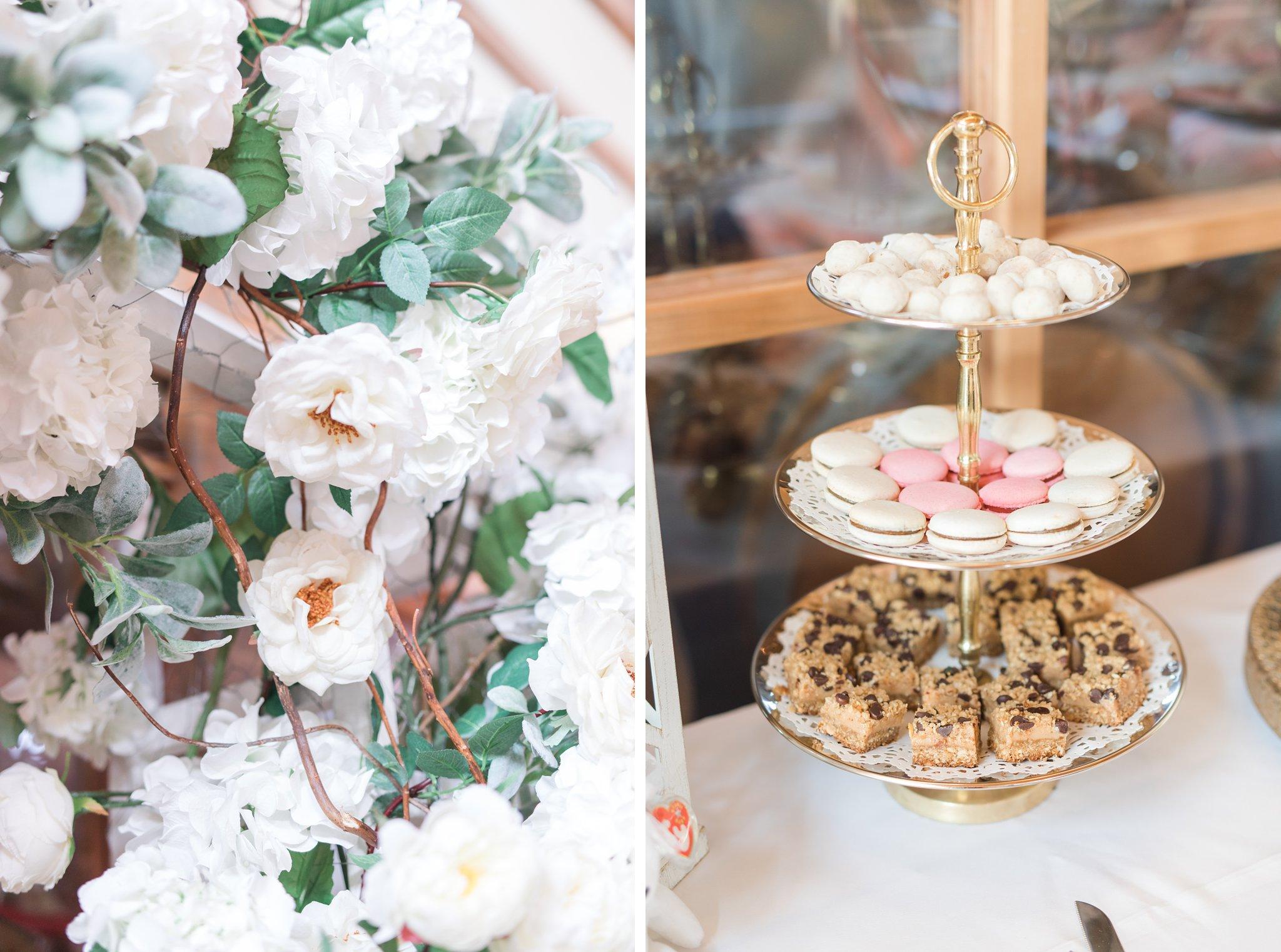 Dessert table Vineyard wedding at Jabulani Amy Pinder Photography
