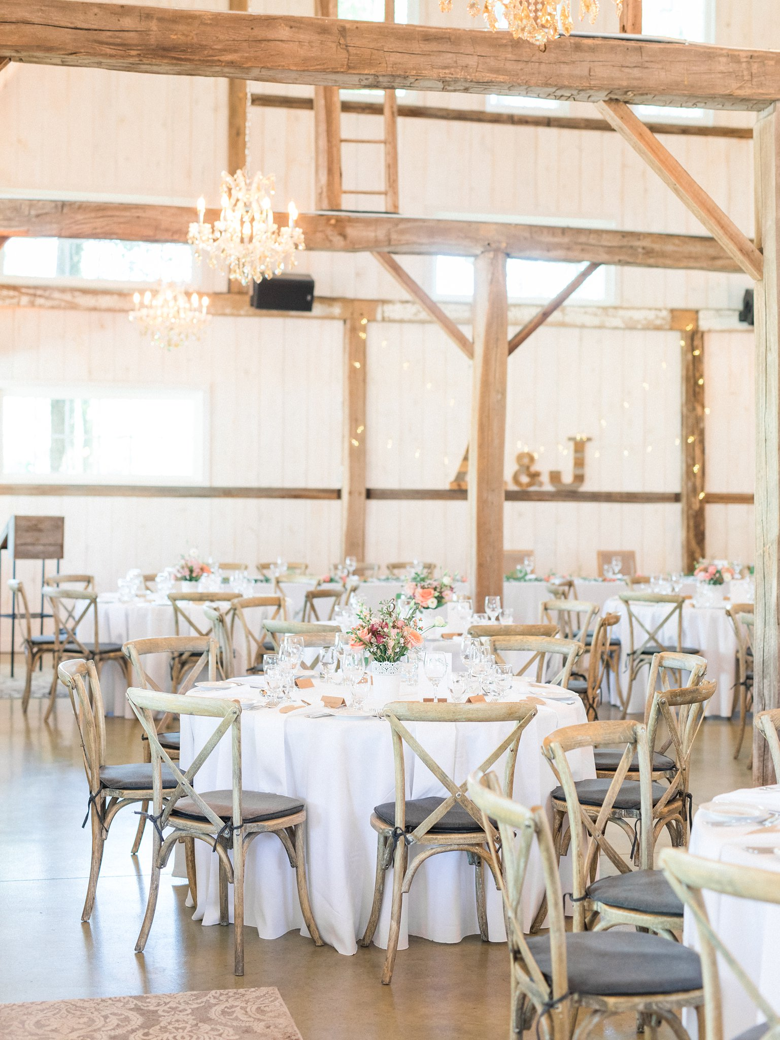 Vineyard chairs Dog-friendly wedding venue Ottawa Stonefields Amy Pinder Photography