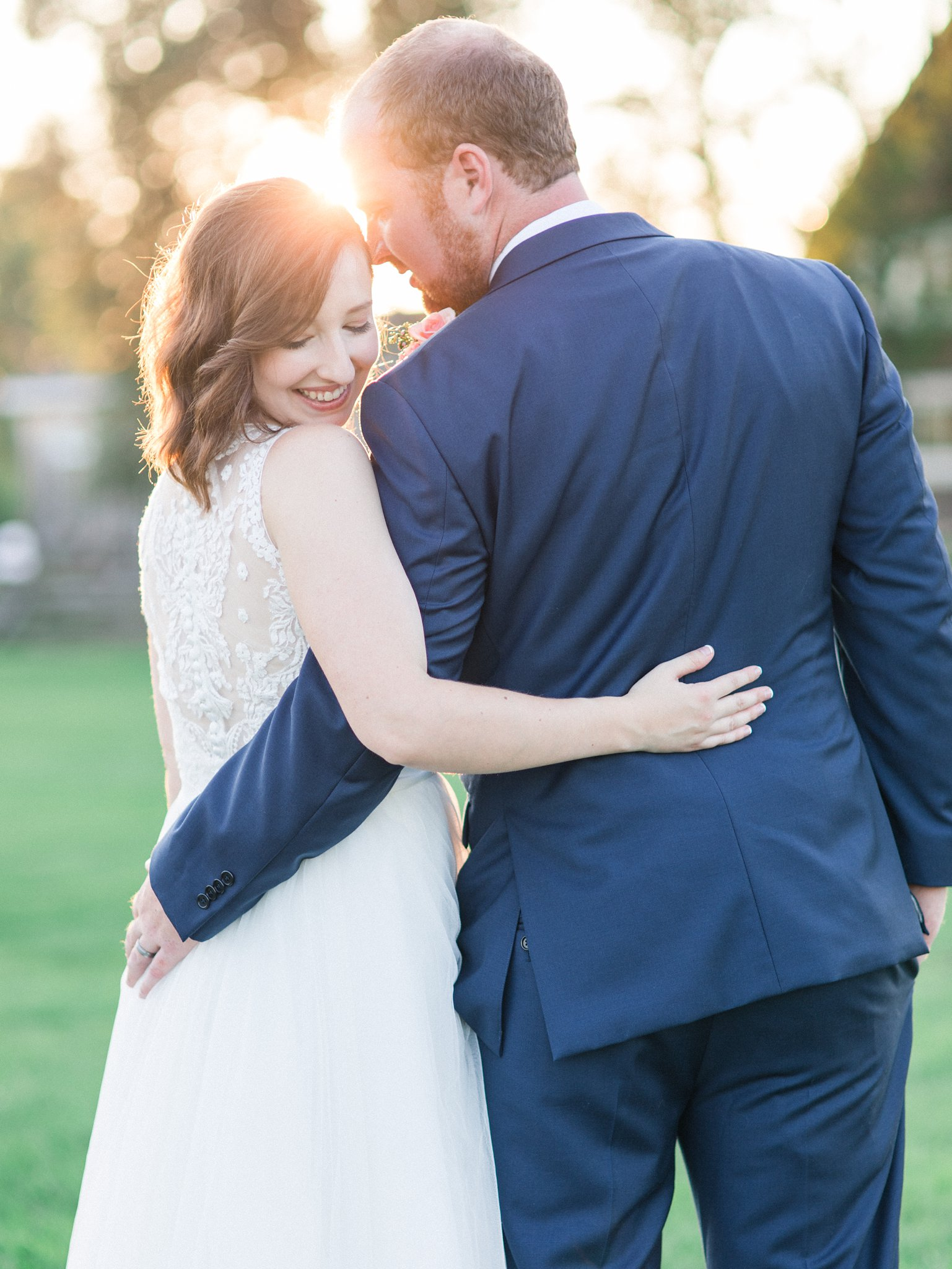Sunset photo Dog-friendly wedding venue Ottawa Stonefields Amy Pinder Photography