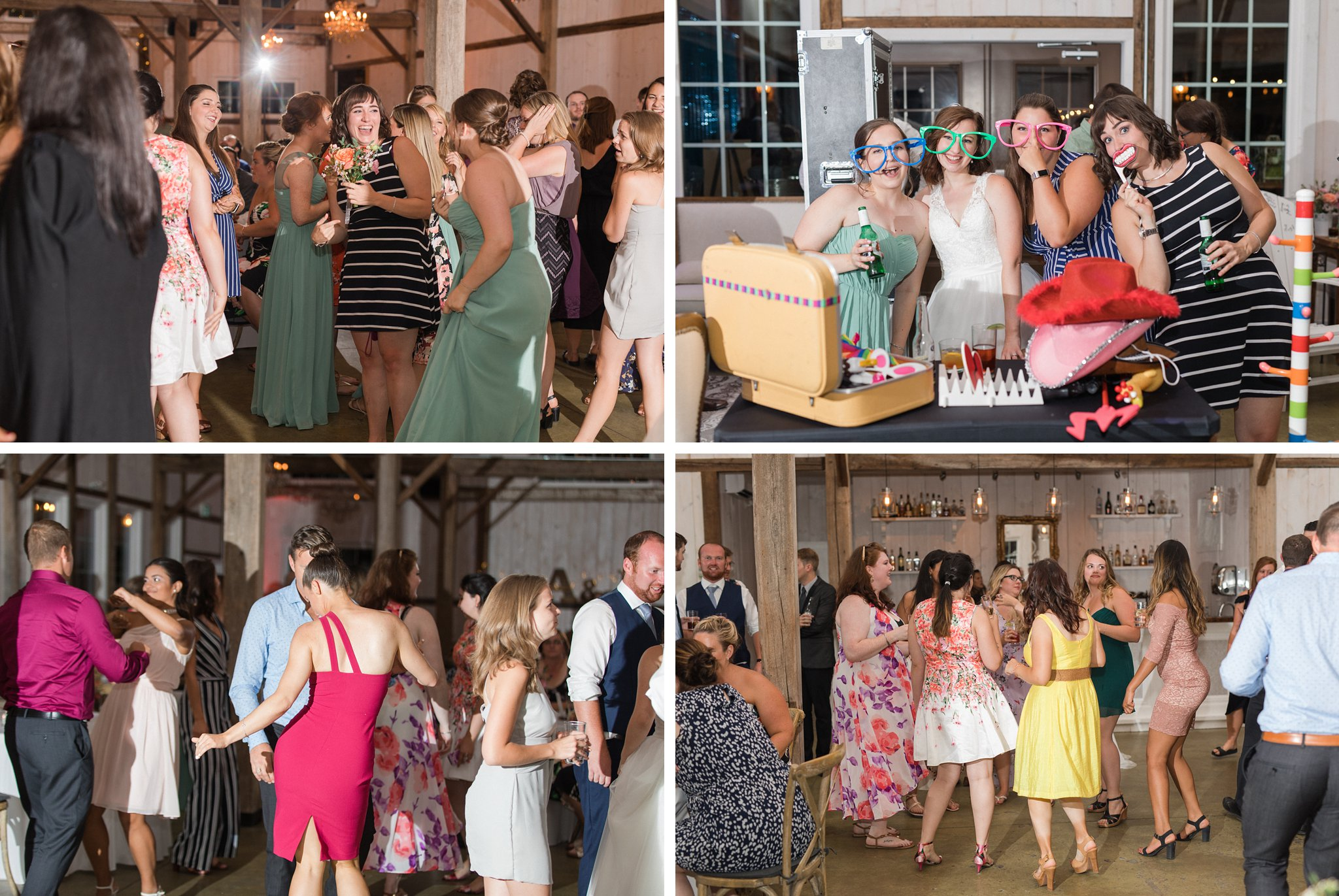 Reception party dancing Dog-friendly wedding venue Ottawa Stonefields Amy Pinder Photography