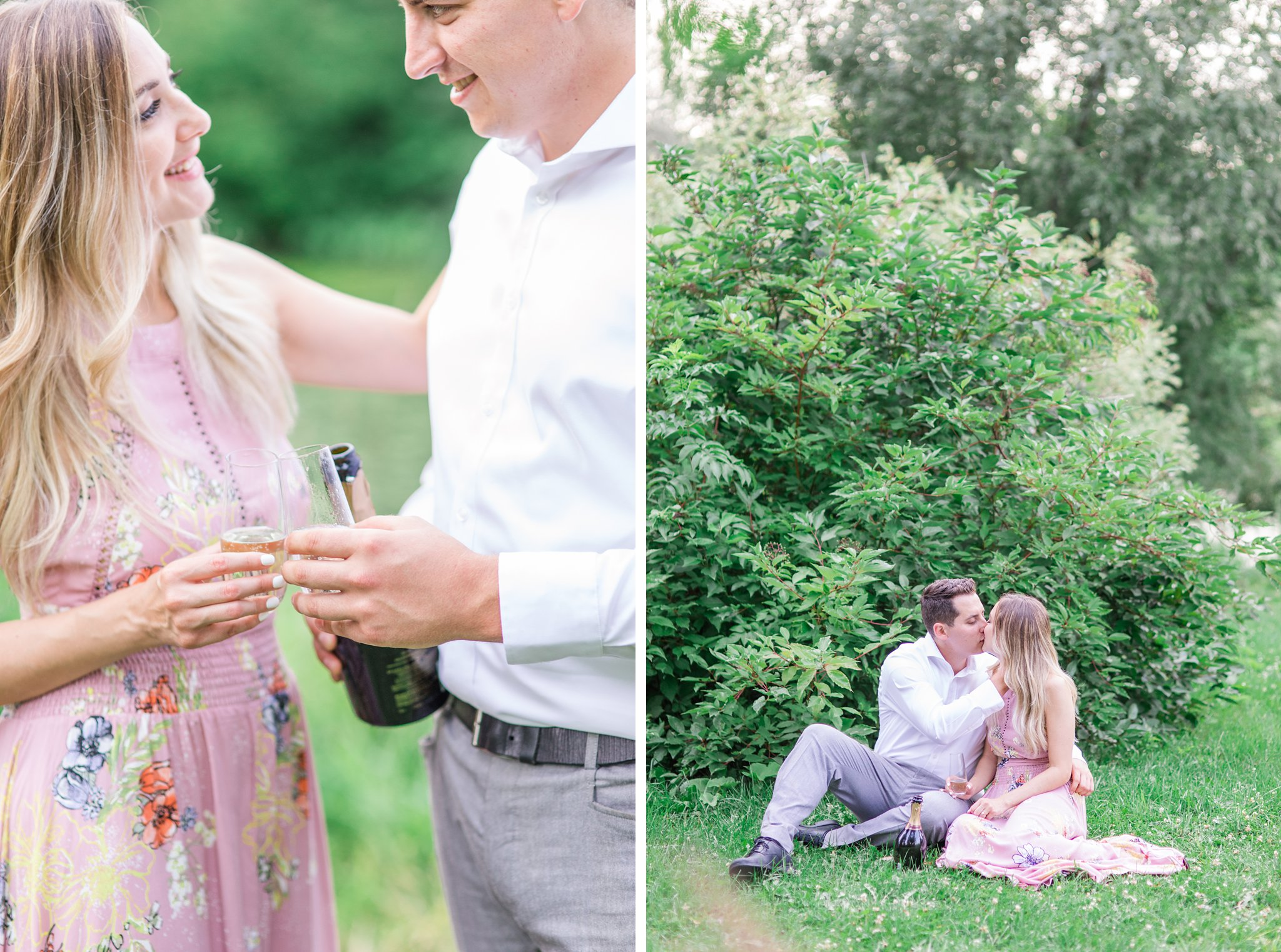 Summer engagement photos in Ottawa Amy Pinder Photography