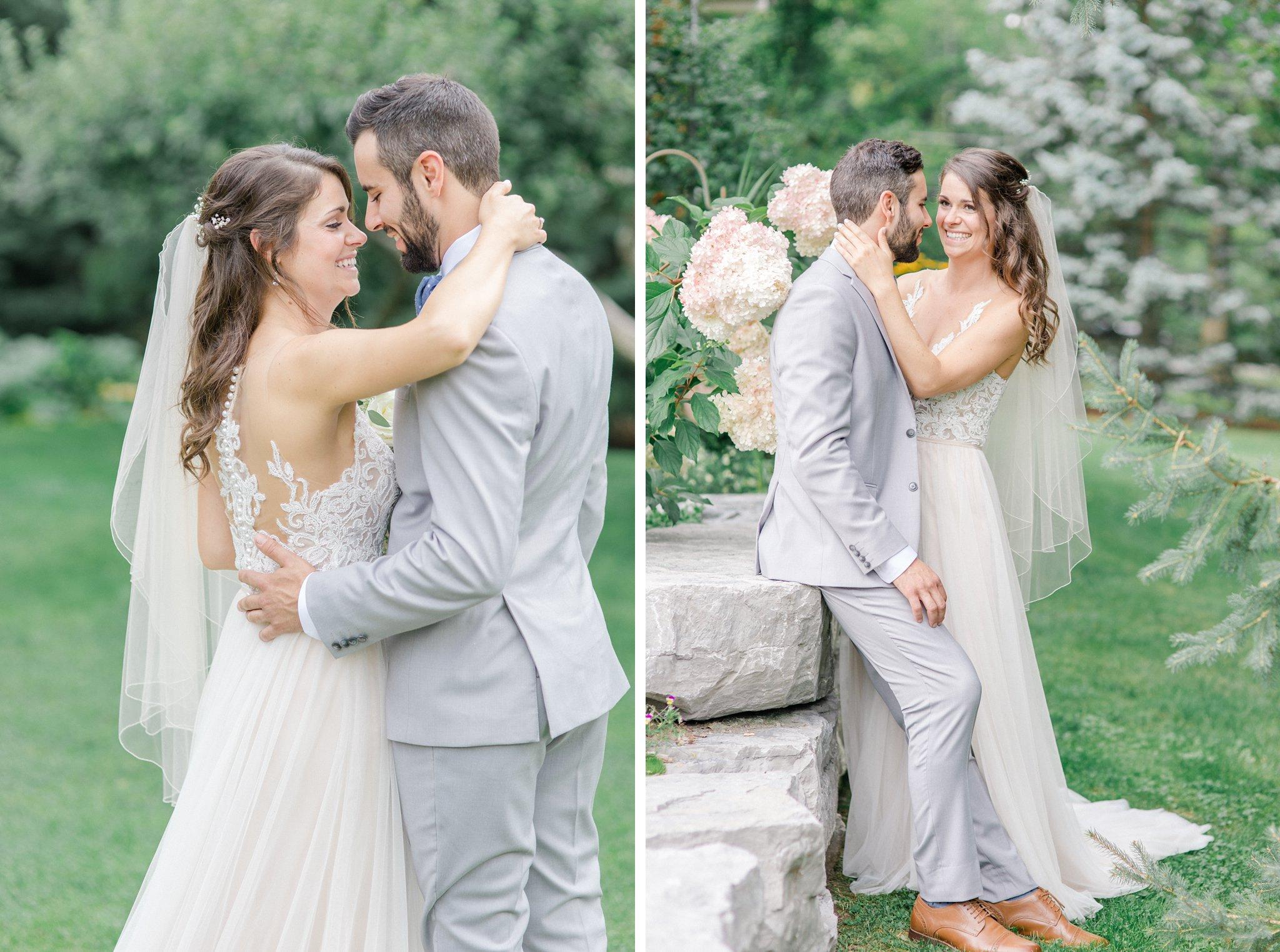 Bride and groom photos in Navan Outdoor wedding at Cumberland Heritage Museum Amy Pinder Photography