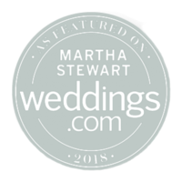 Featured on Martha Stewart Weddings Le Belvedere Wedding Donut cocktail hour