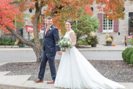 Fall Wedding Photos Ottawa Mill Street Brew Pub