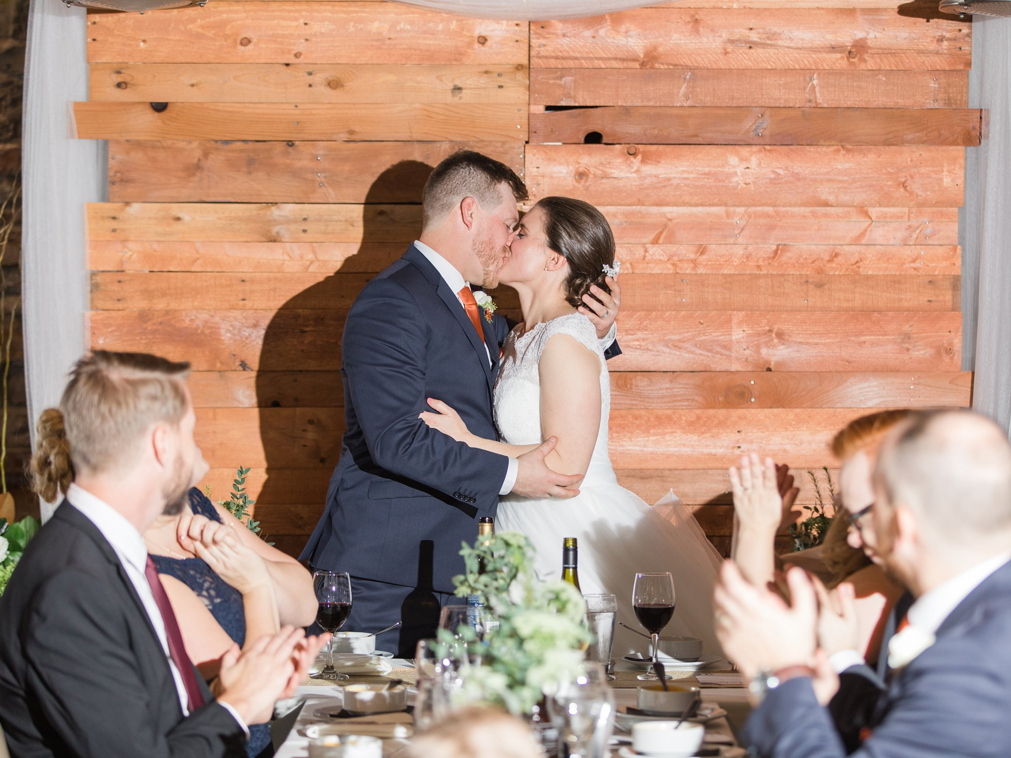 Kissing game Fall Wedding Photos Ottawa Mill Street Brew Pub