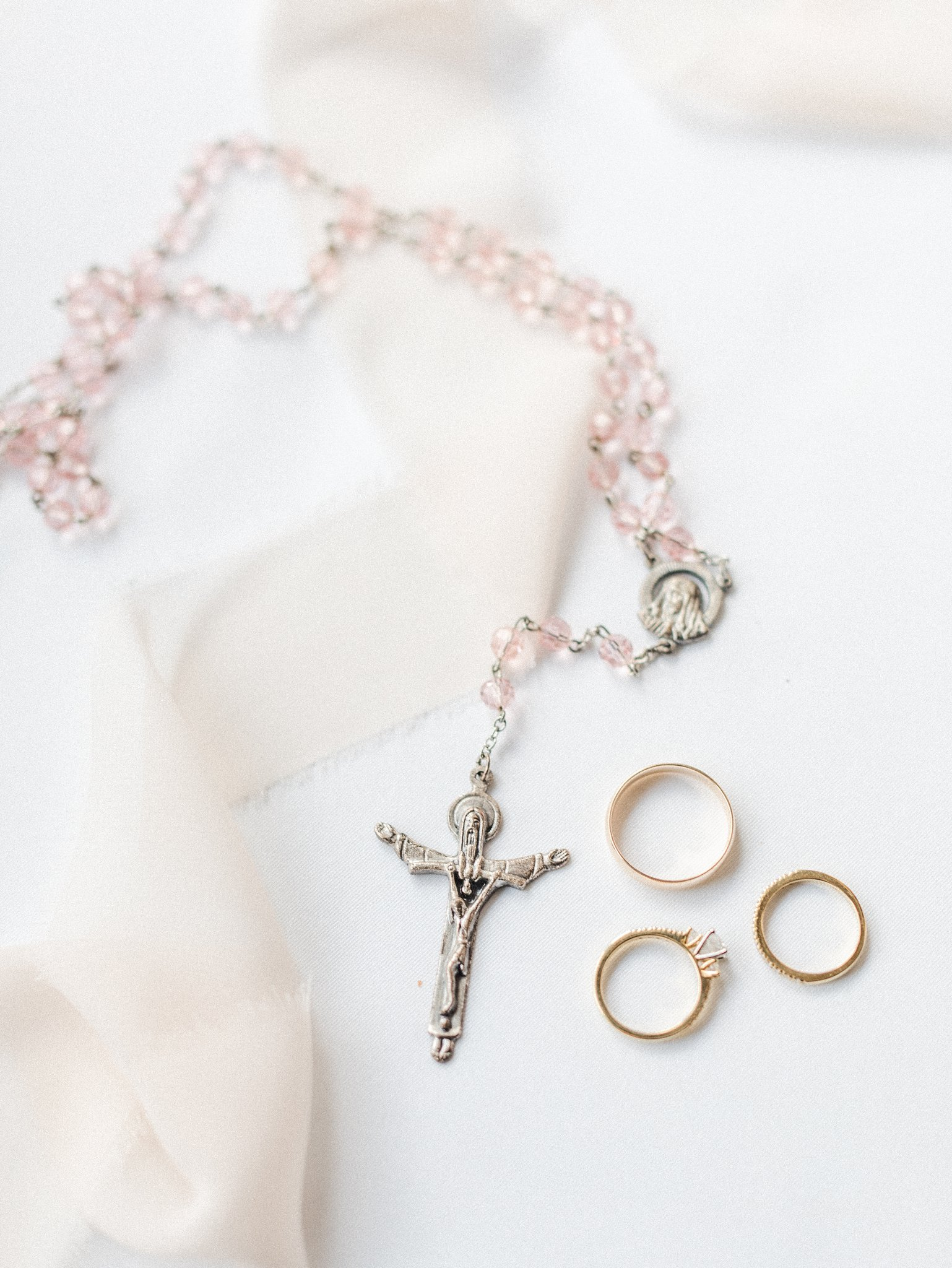 Rosary beads Hilton Garden Inn Ottawa Airport Hotel Wedding
