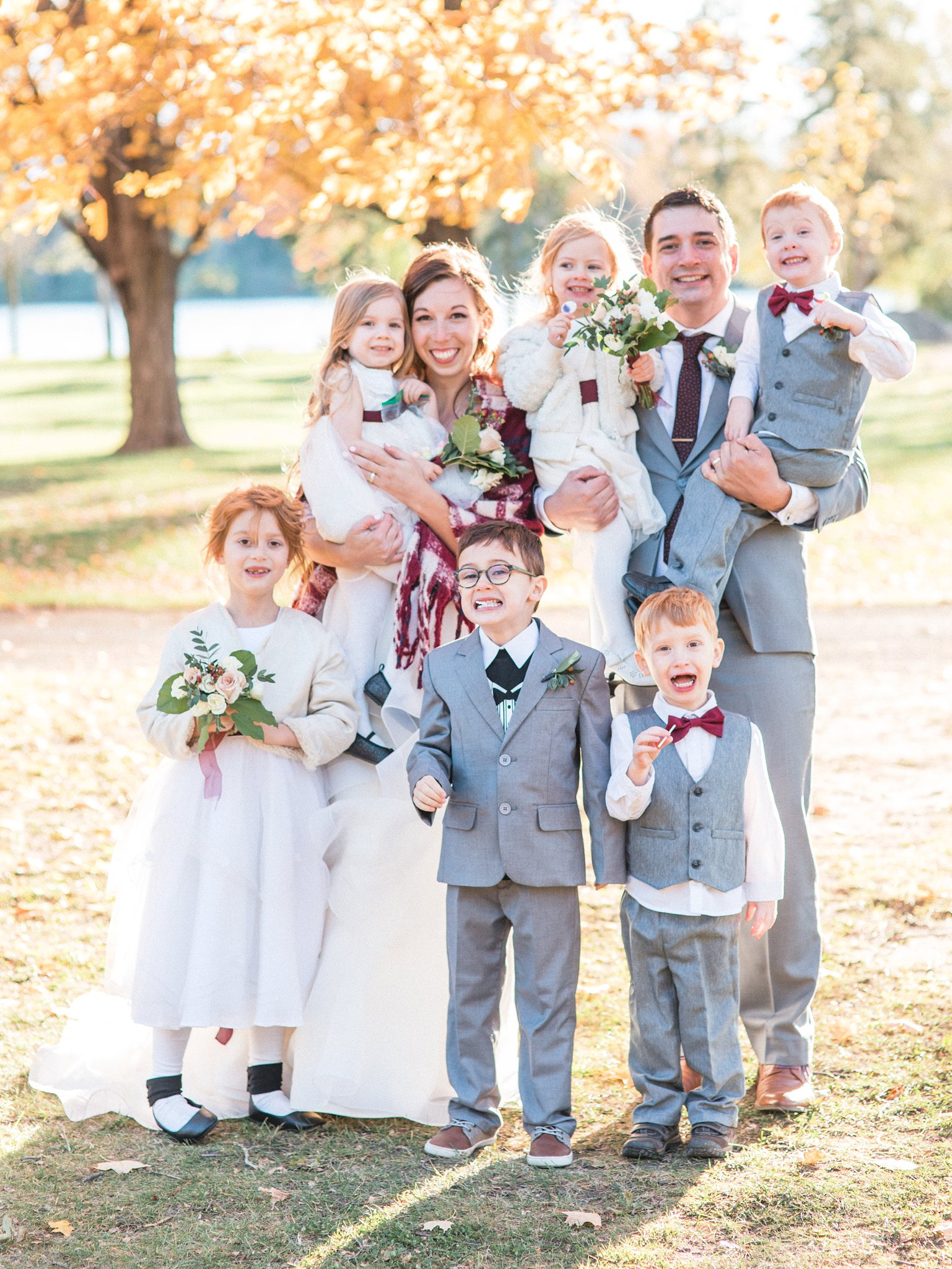 Ring bearers and flower girls, Hilton Garden Inn Ottawa Airport Hotel Wedding