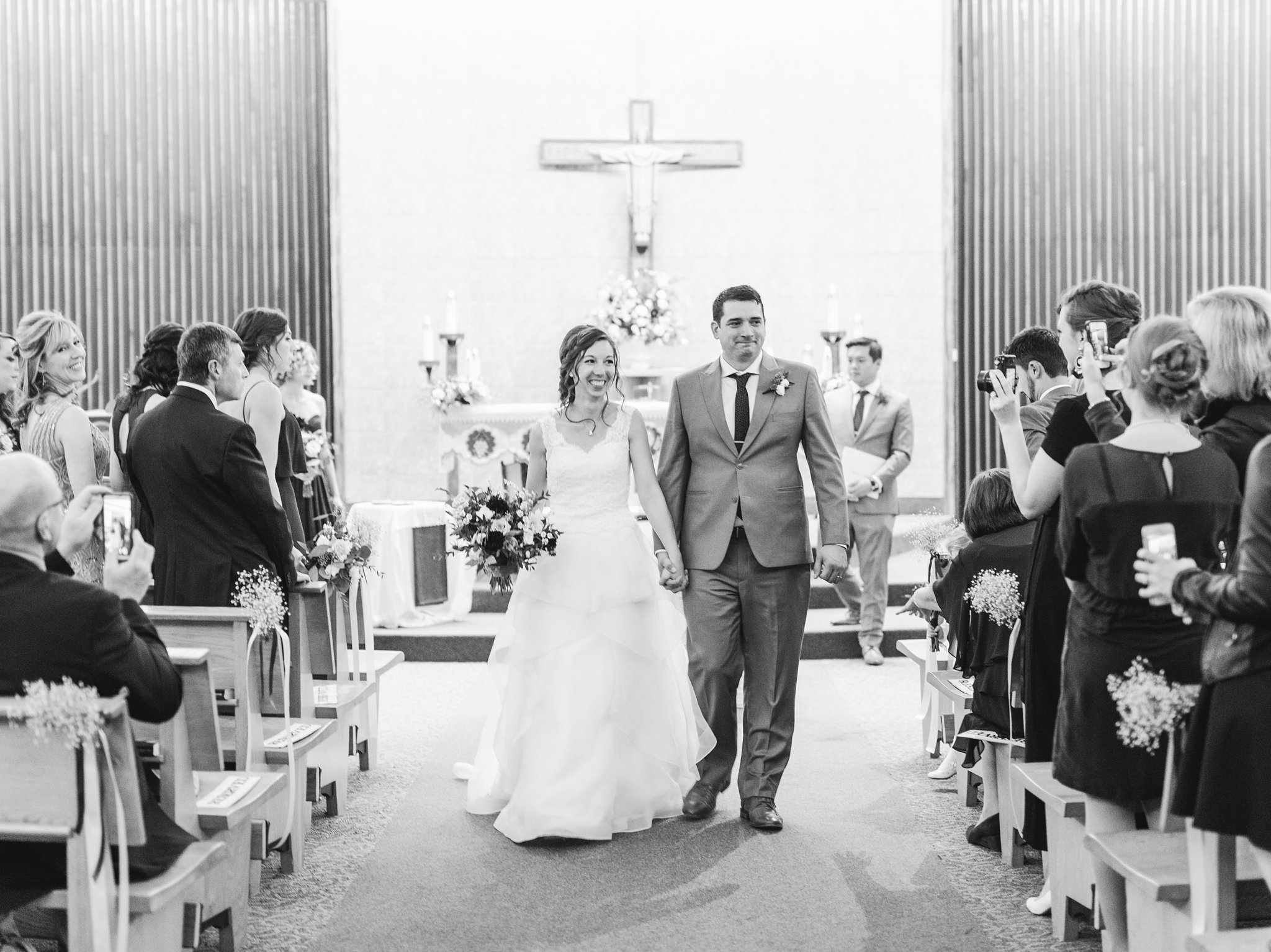 Married at Holy Cross Parish Ottawa Hilton Garden Inn Ottawa Airport Hotel Wedding