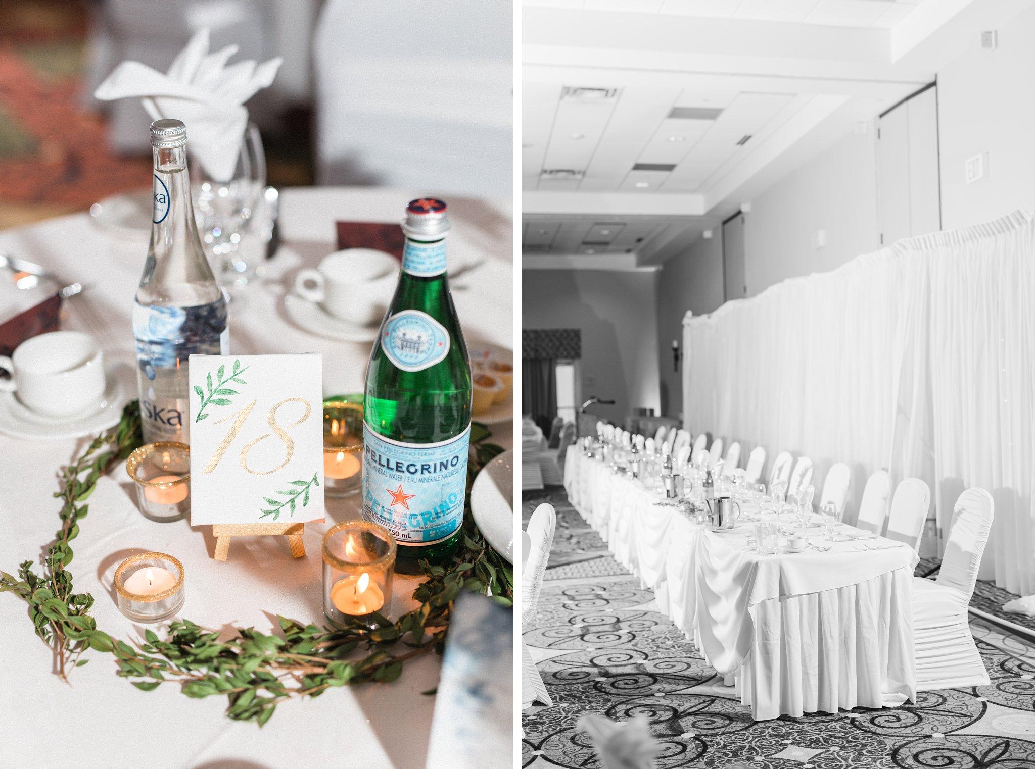 Hilton Inn ballroom, Hilton Garden Inn Ottawa Airport Hotel Wedding
