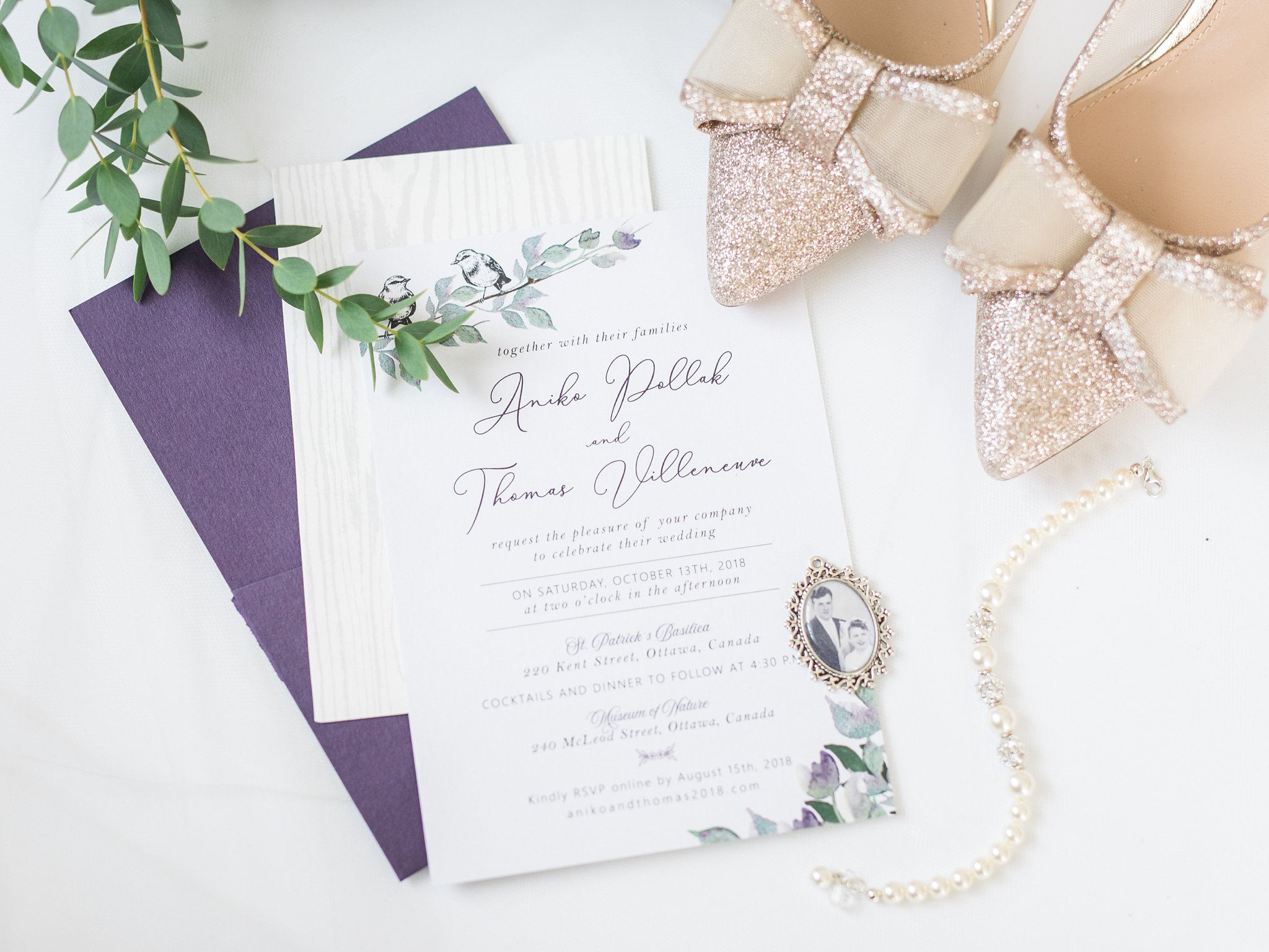 Hashtag Paper wedding invitations A Festive Fall Wedding at the Canadian Museum of Nature