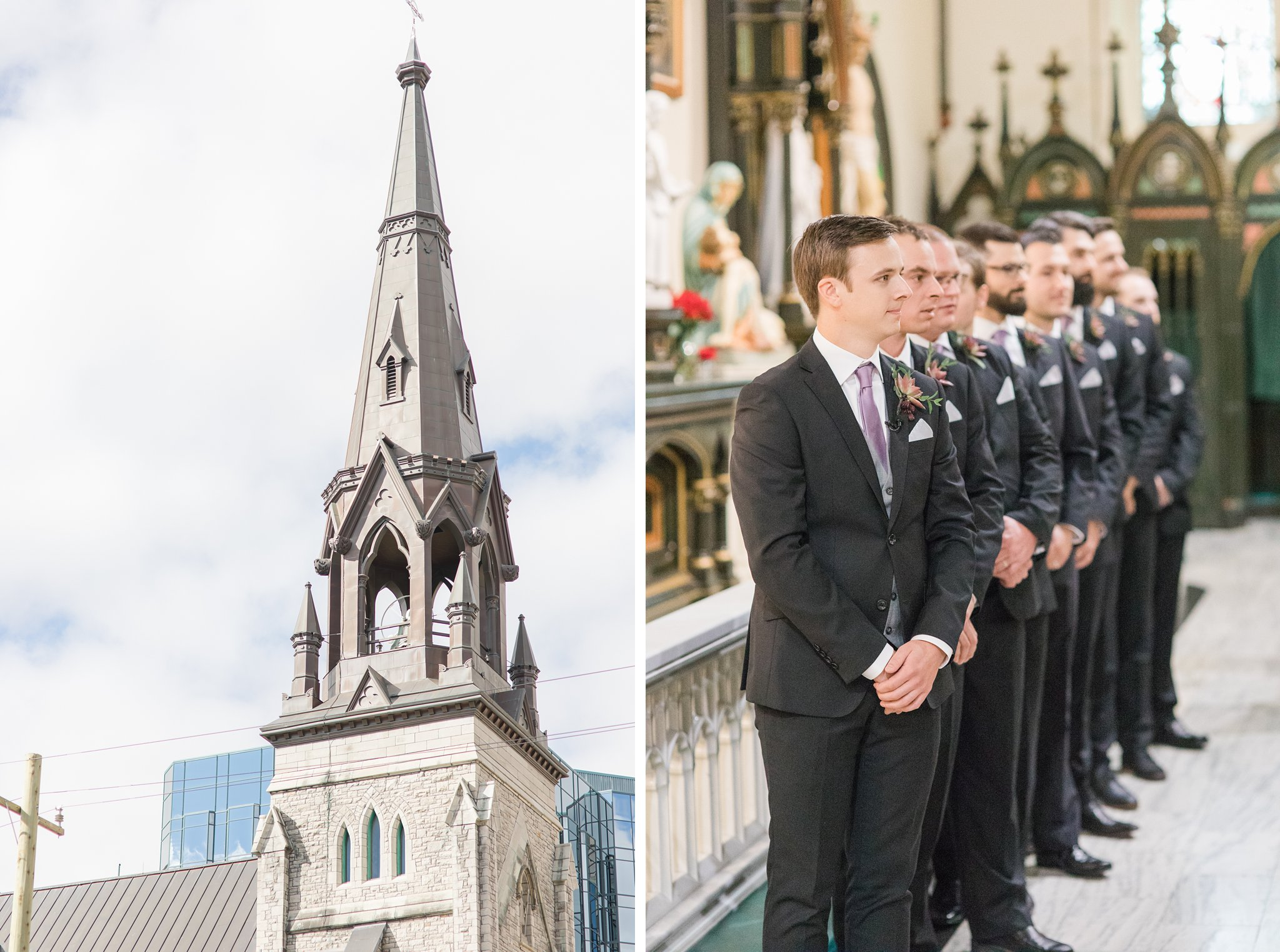 St. Patrick Basilica Ottawa A Festive Fall Wedding at the Canadian Museum of Nature