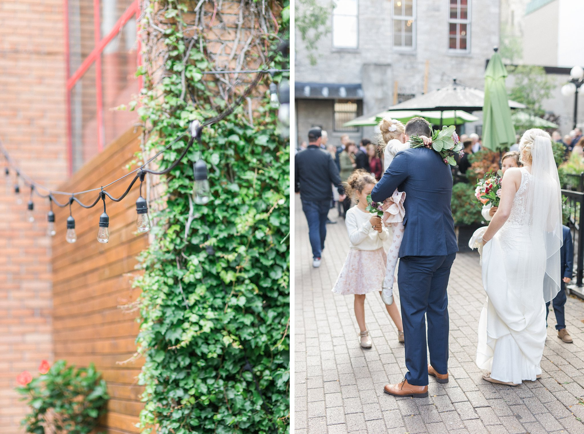 Ottawa restaurant wedding at Sidedoor Restaurant