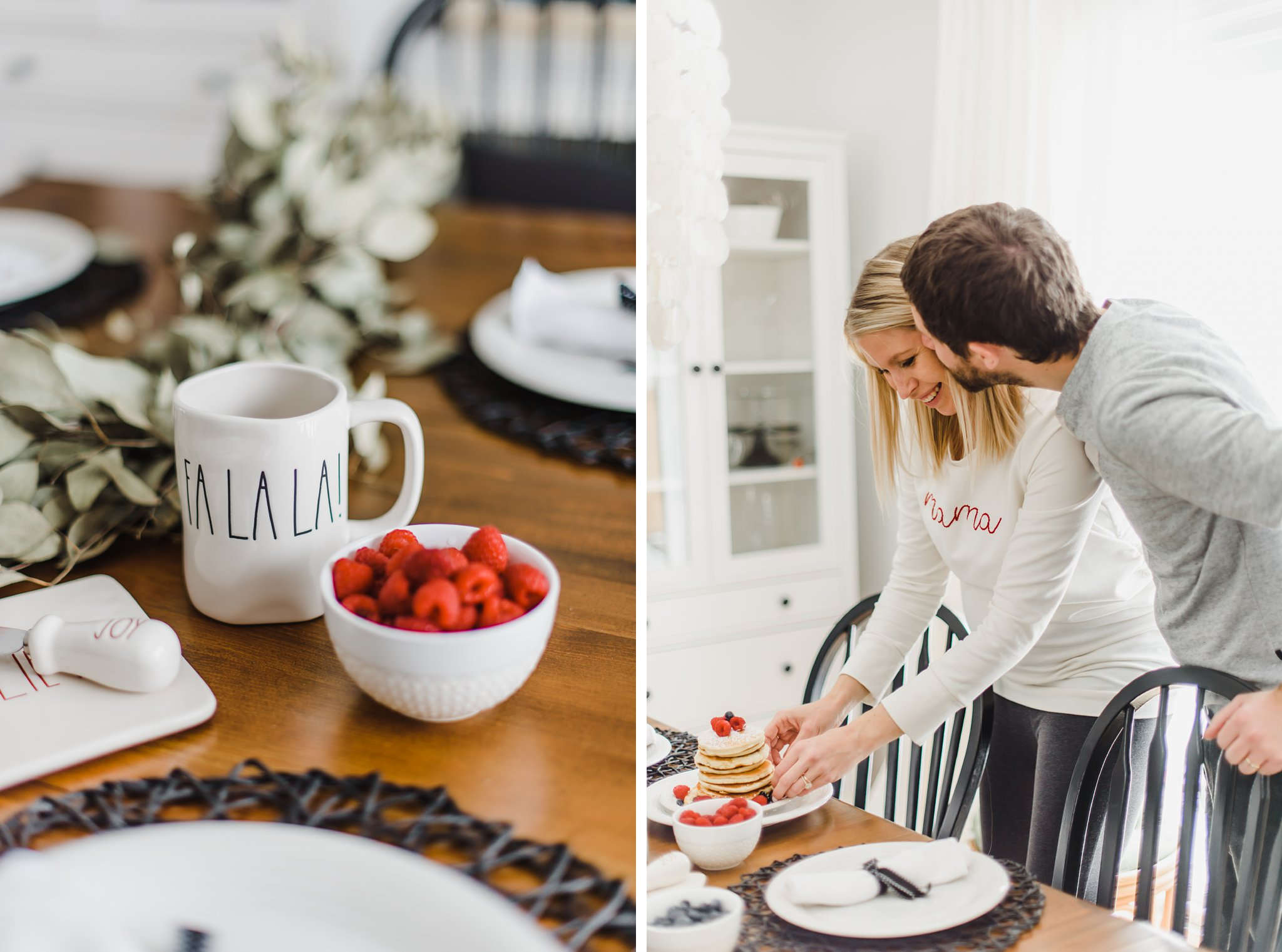 Lifestyle Maternity Photos in Ottawa on 'Pancake Sunday'