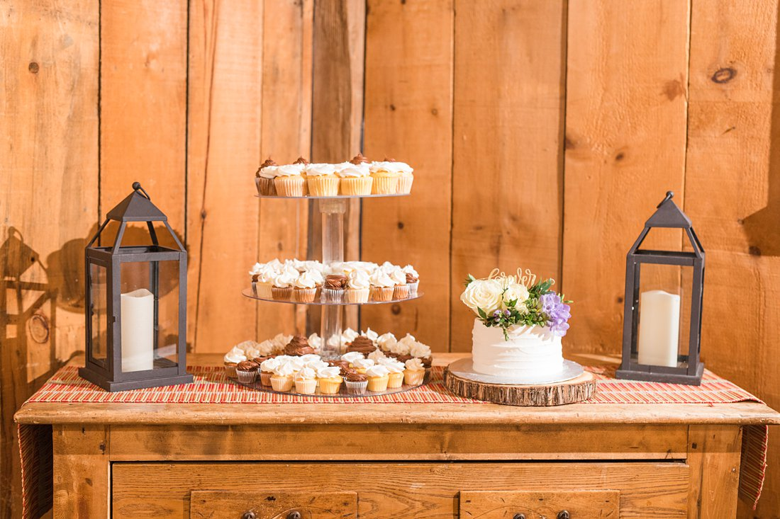 Cupcake tree Strathmere Lodge Wedding