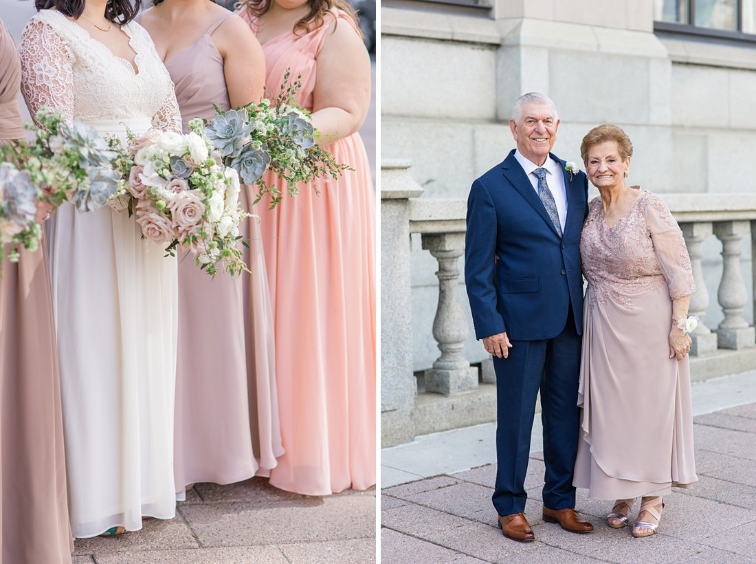 Grandparents at Chateau Laurier Wedding