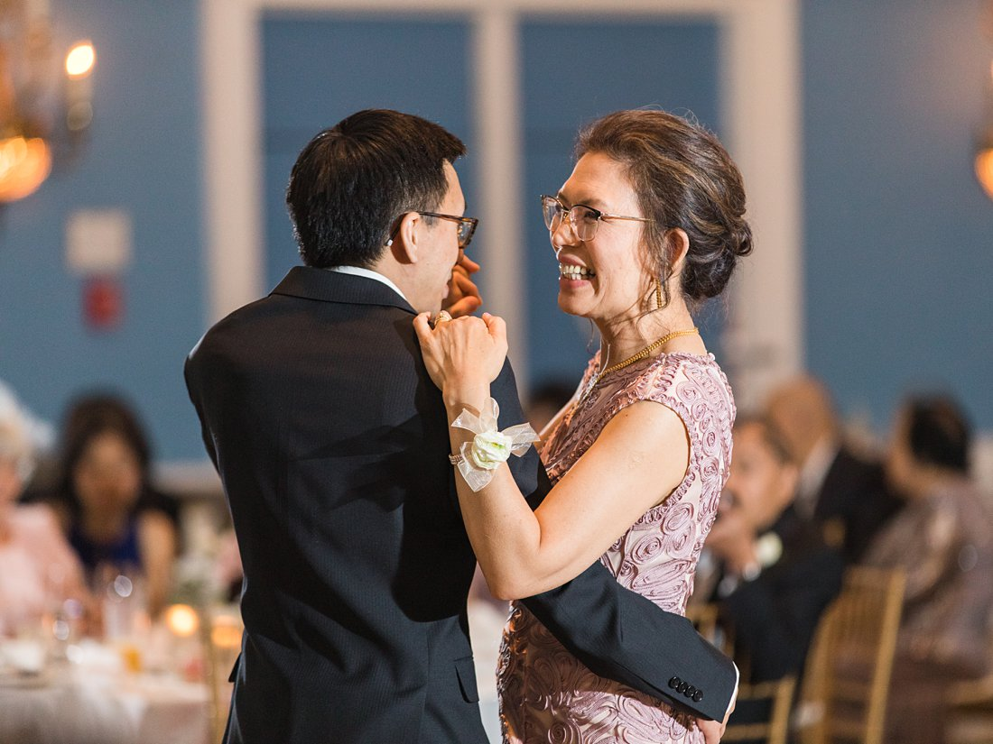 Mother son dance Chateau Laurier Wedding