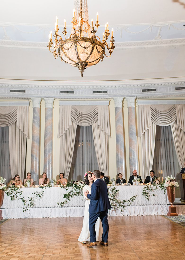 Father daughter dance Chateau Laurier Wedding