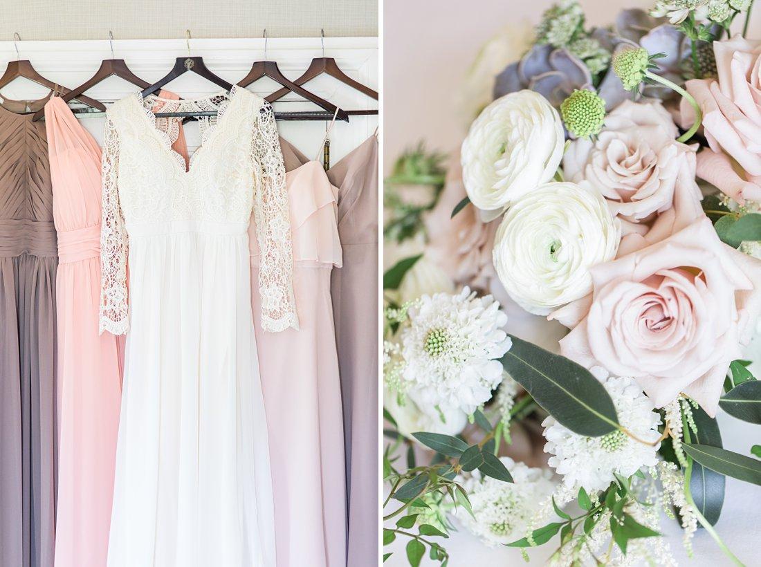 Ranunculus bouquet, boho wedding dress, Chateau Laurier Wedding,