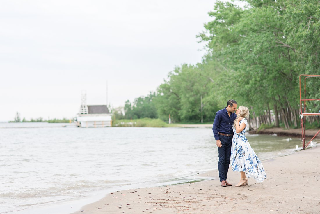 Toronto lakeshore Polson Pier Toronto Engagement Photos, Amy Pinder Photography
