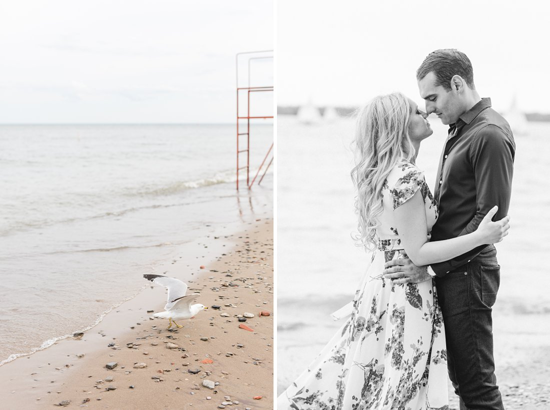 Toronto beach, Polson Pier Toronto Engagement Photos, Amy Pinder Photography