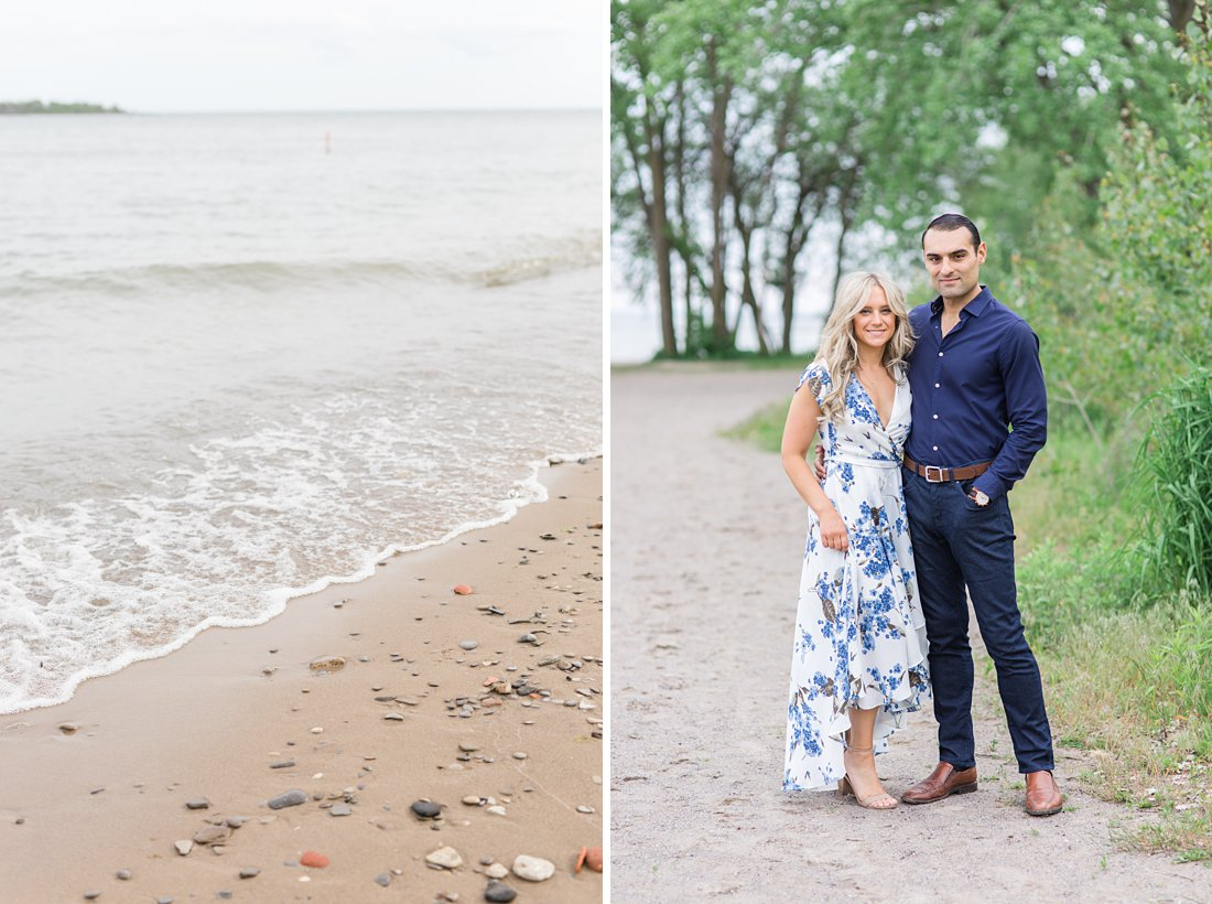 Cherry beach waterfront Polson Pier Toronto Engagement Photos, Amy Pinder Photography
