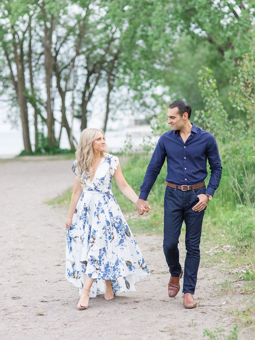 Toronto Cherry Beach Polson Pier Toronto Engagement Photos, Amy Pinder Photography