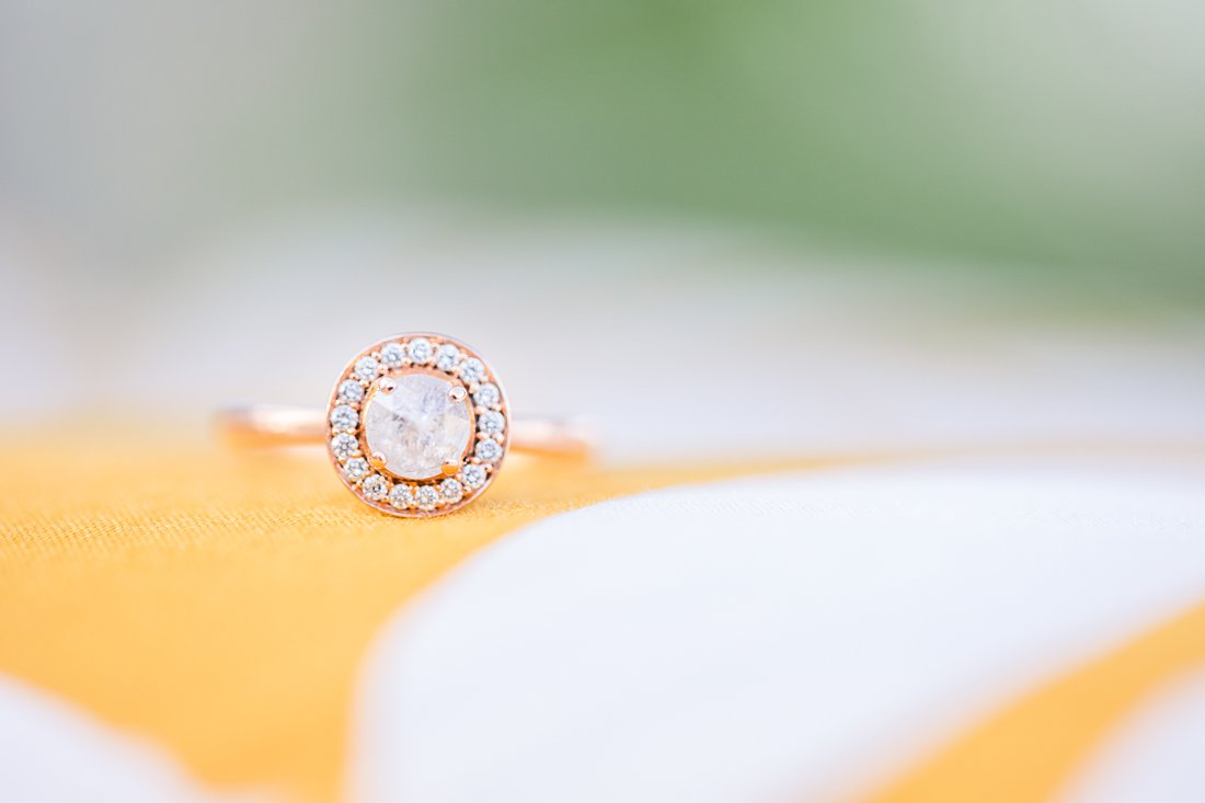 Round gemstone engagement ring, Lansdowne Engagement Photos