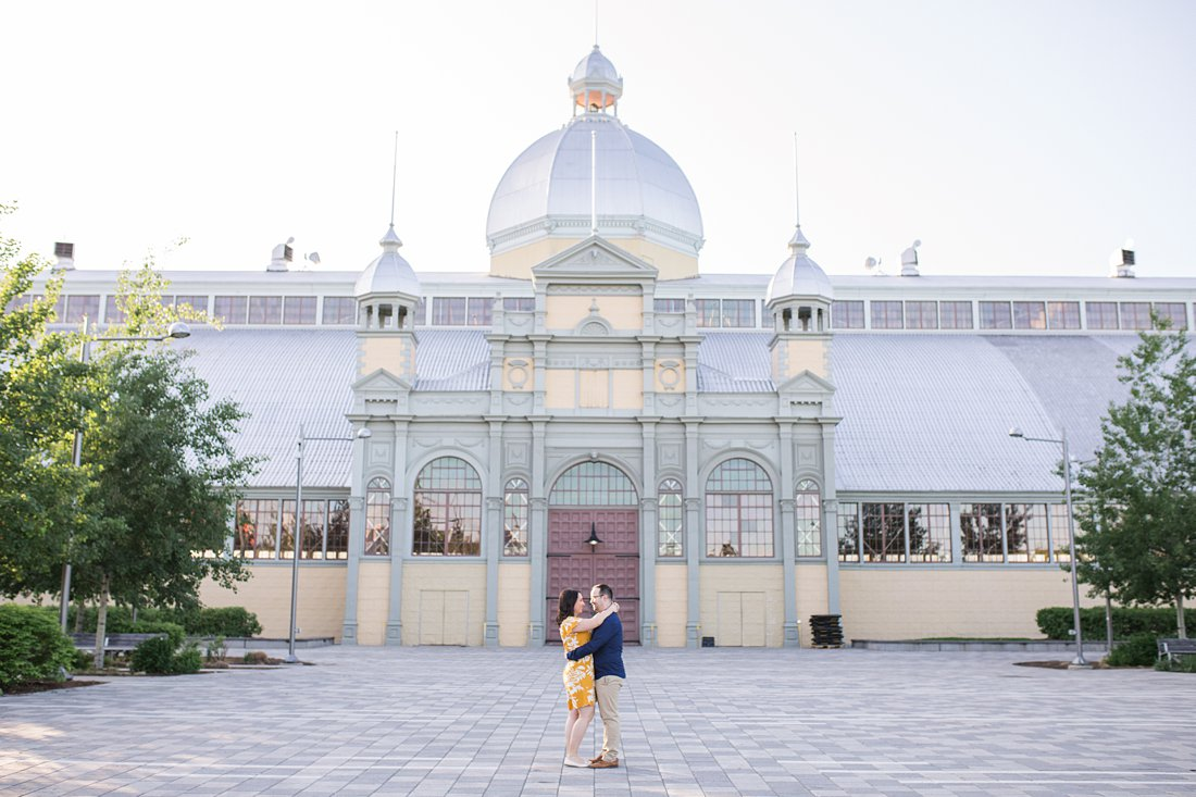 Aberdeen Pavillion Lansdowne Engagement Photos