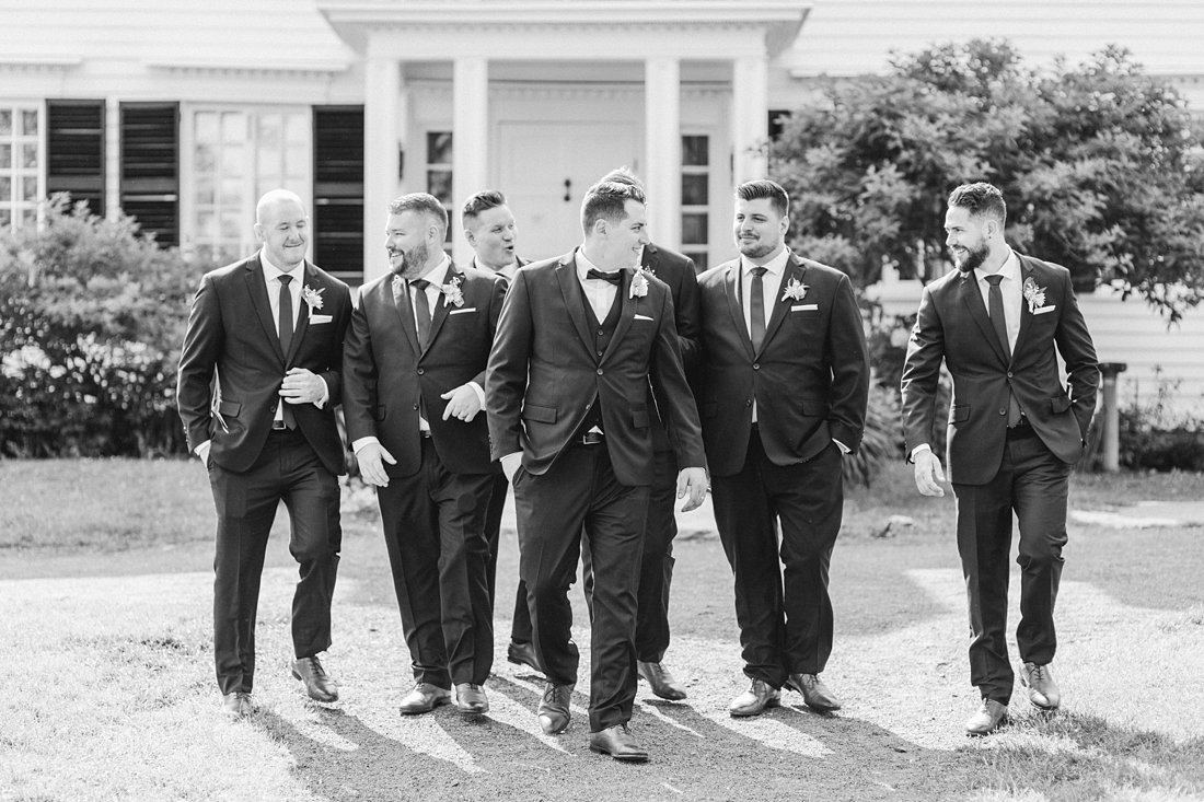 Groomsmen in black and white, Restaurant Twenty Two Wedding at the Westin Ottawa