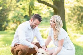 Arboretum Engagement Photos, Amy Pinder Photography