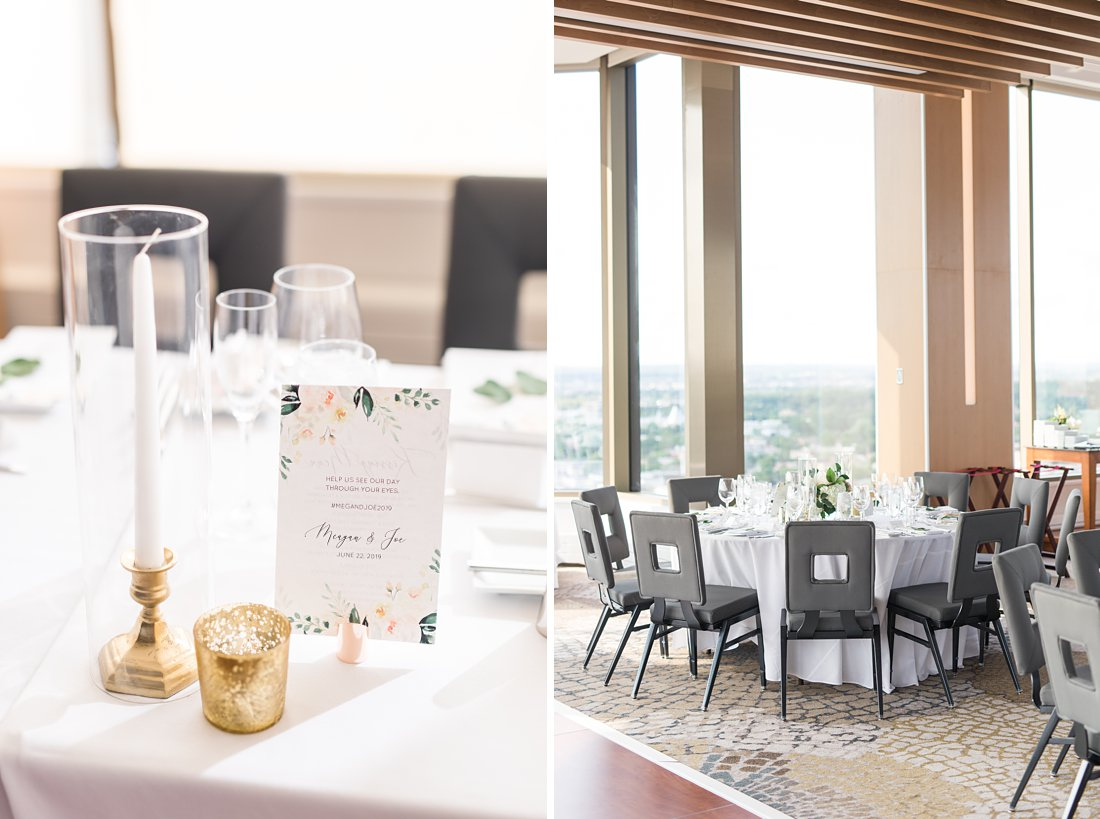 Makin it lovely, Restaurant Twenty Two Wedding at the Westin Ottawa