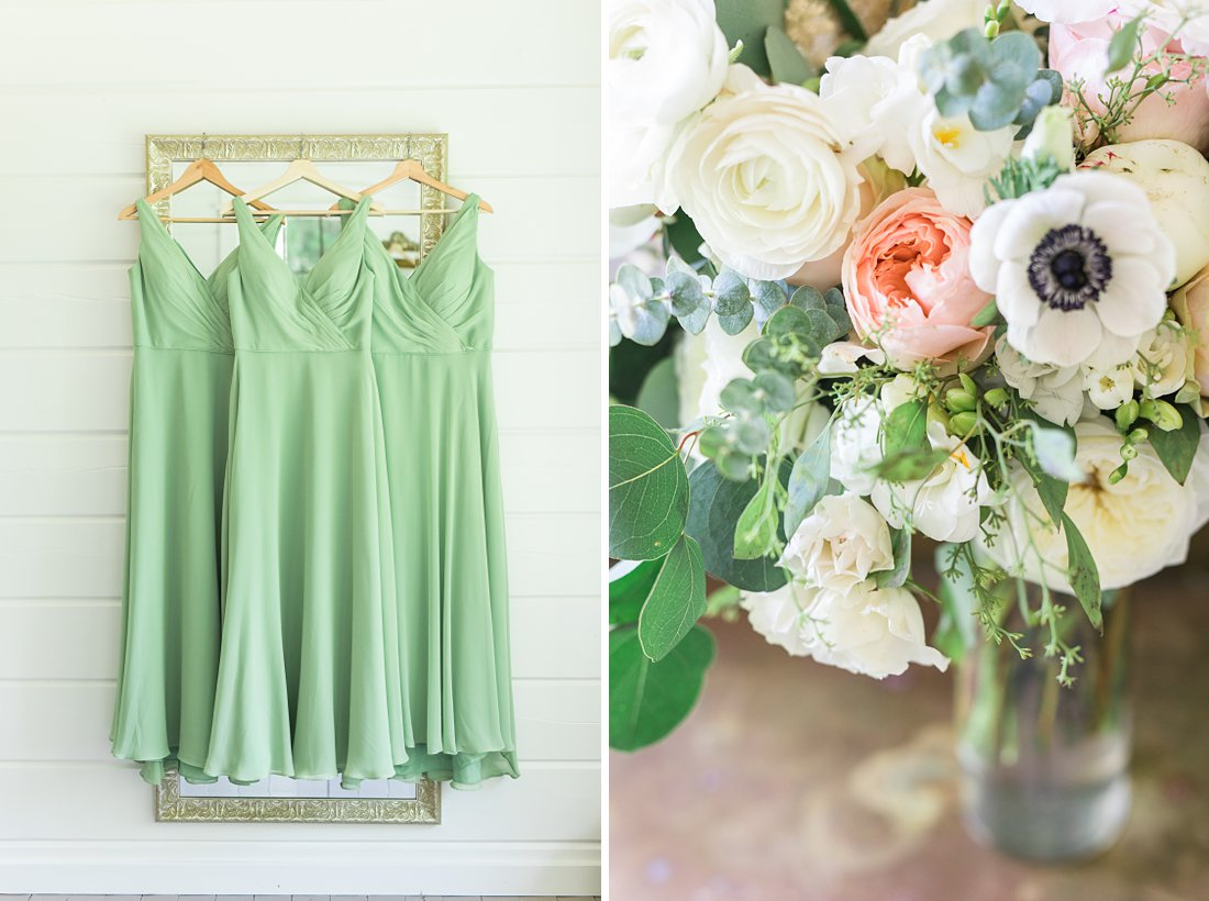 bridal bouquet, A Sage Green Summer Wedding at Le Belvedere